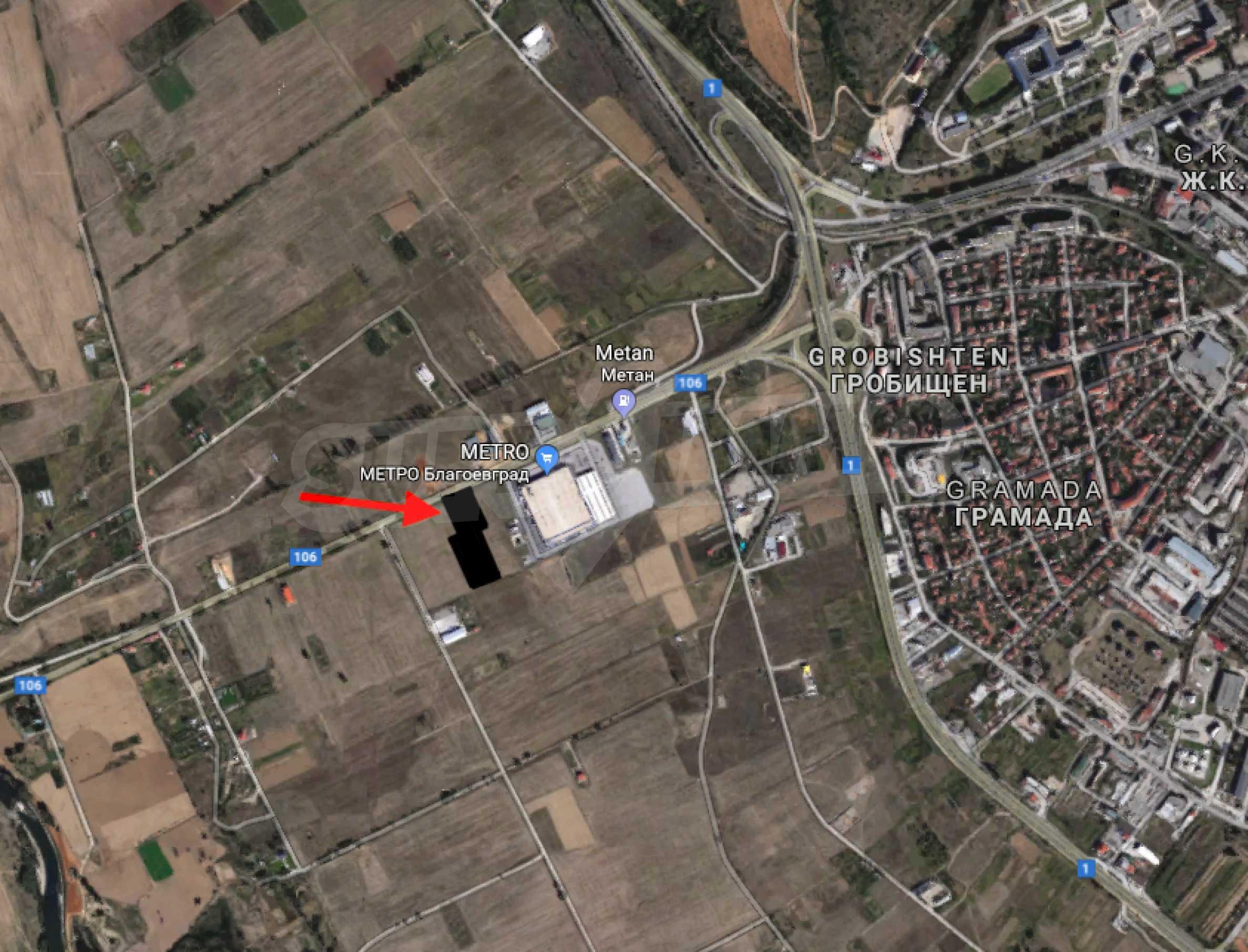 Reguliertes Grundstück mit einer sehr guten Lage in Blagoewgrad 2
