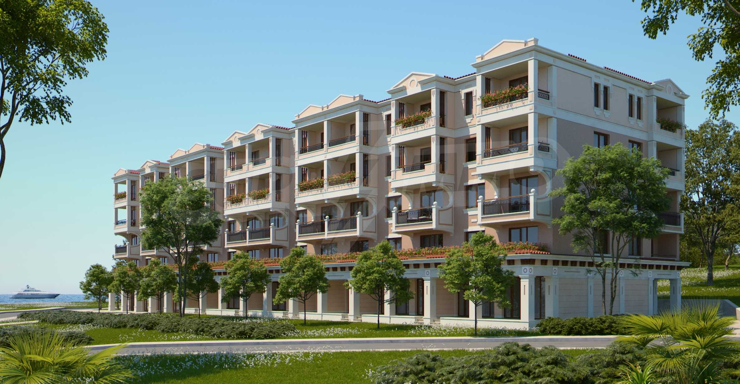 Apartment for sale in Sozopol, Bulgaria - New waterfront building in the Green Life Beach Resort.