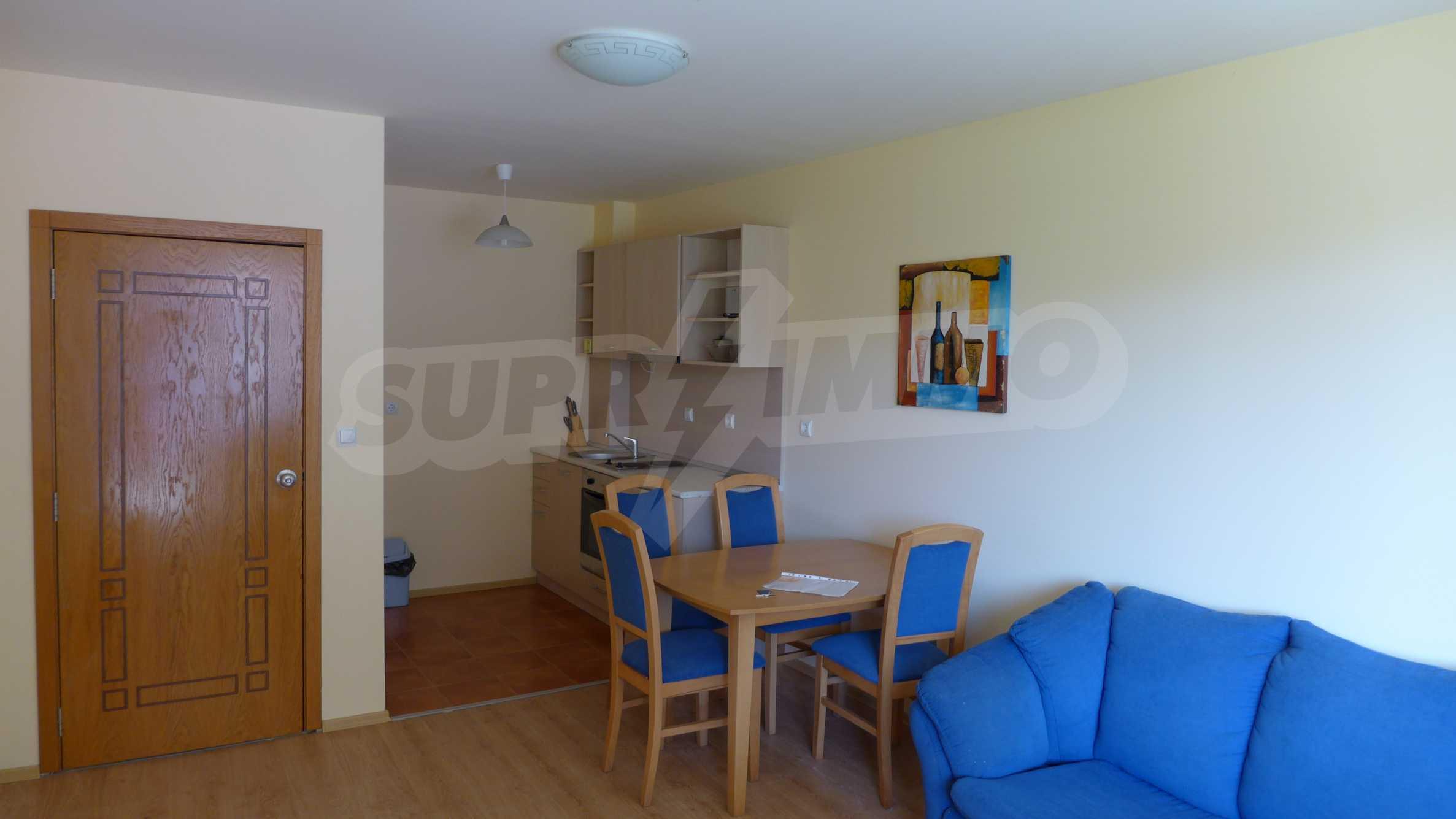 2-Raum-Apartment zu einem sehr günstigen Preis im Zentrum vom Sonnenstrand