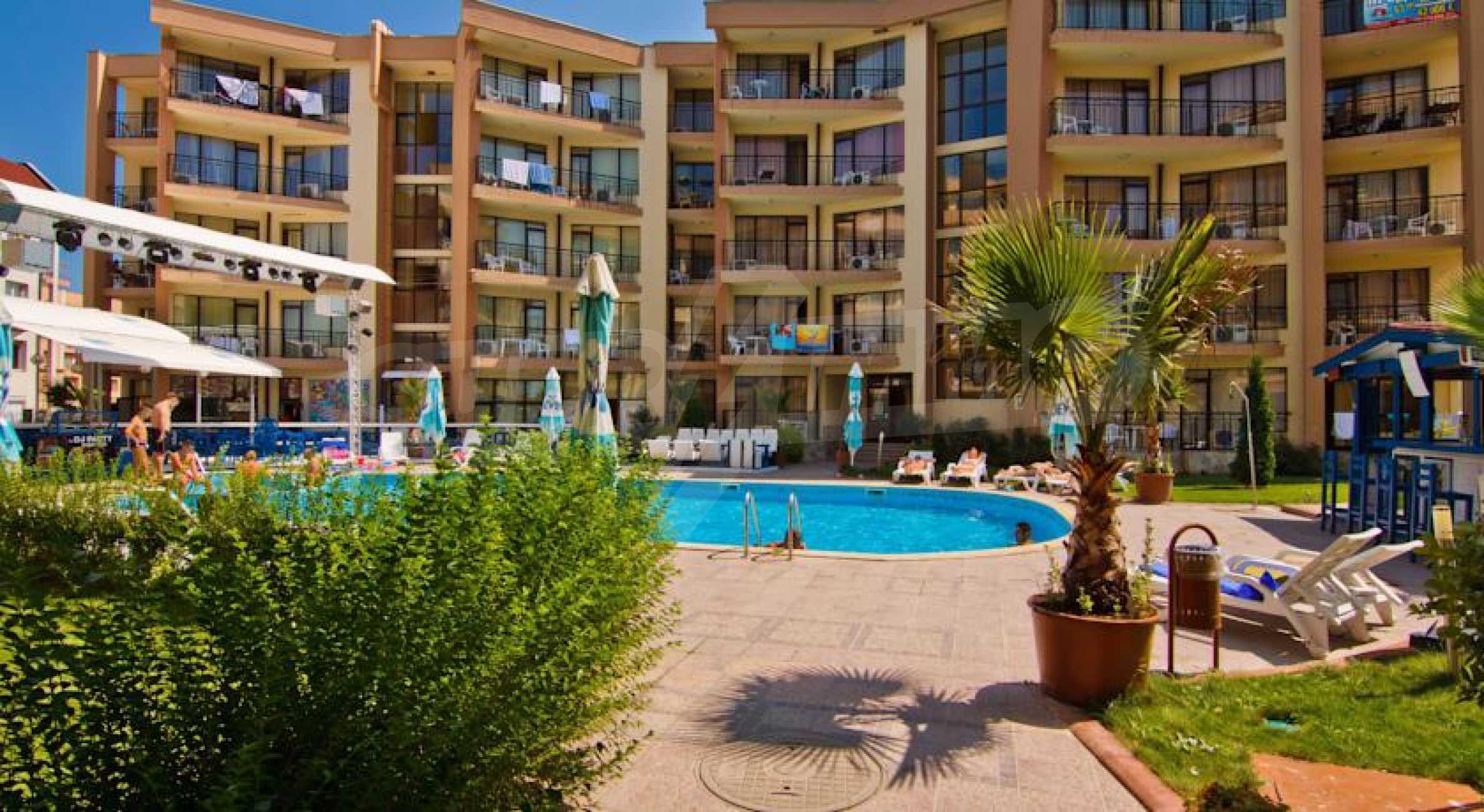2-Raum-Apartment zu einem sehr günstigen Preis im Zentrum vom Sonnenstrand 11