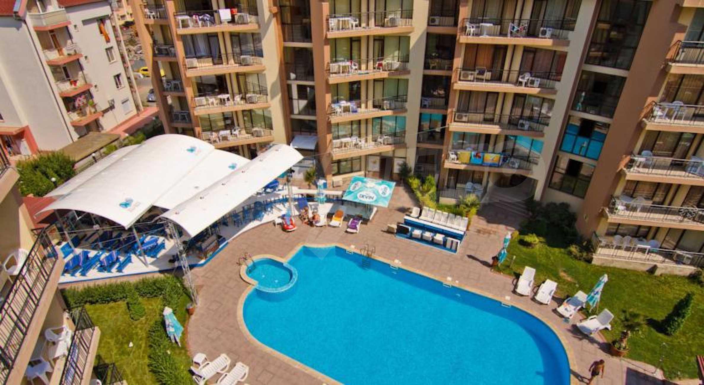 2-Raum-Apartment zu einem sehr günstigen Preis im Zentrum vom Sonnenstrand 13