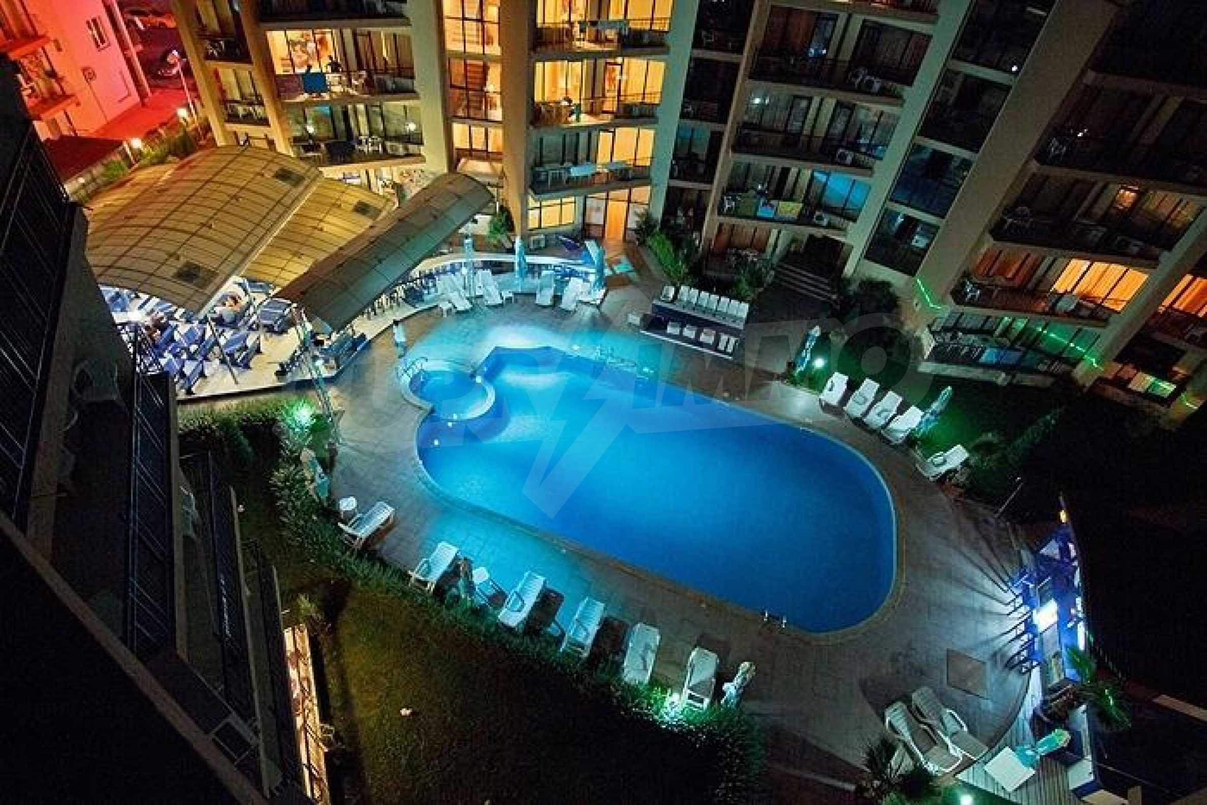 2-Raum-Apartment zu einem sehr günstigen Preis im Zentrum vom Sonnenstrand 14