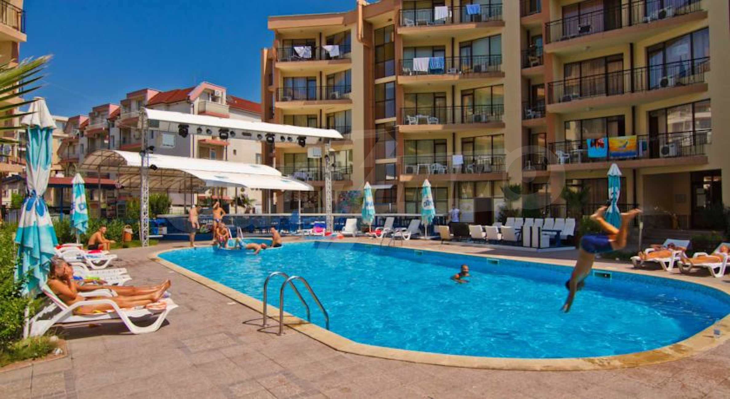 2-Raum-Apartment zu einem sehr günstigen Preis im Zentrum vom Sonnenstrand 10