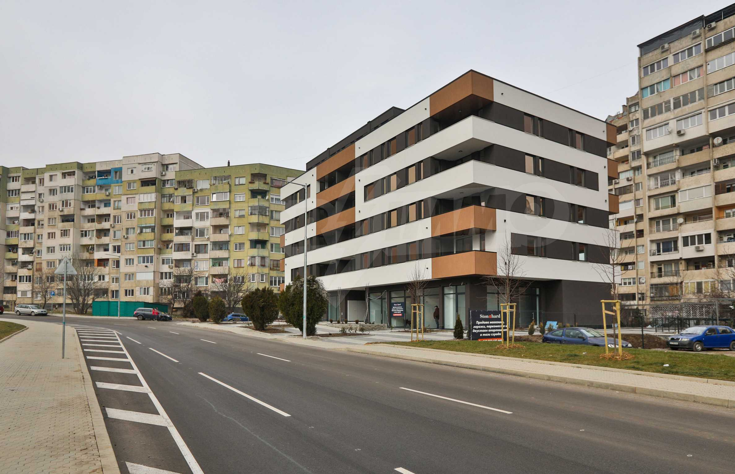 Shops, garages & parking spaces for sale in Comfort - Ovcha Kupel - new building near metro station 15