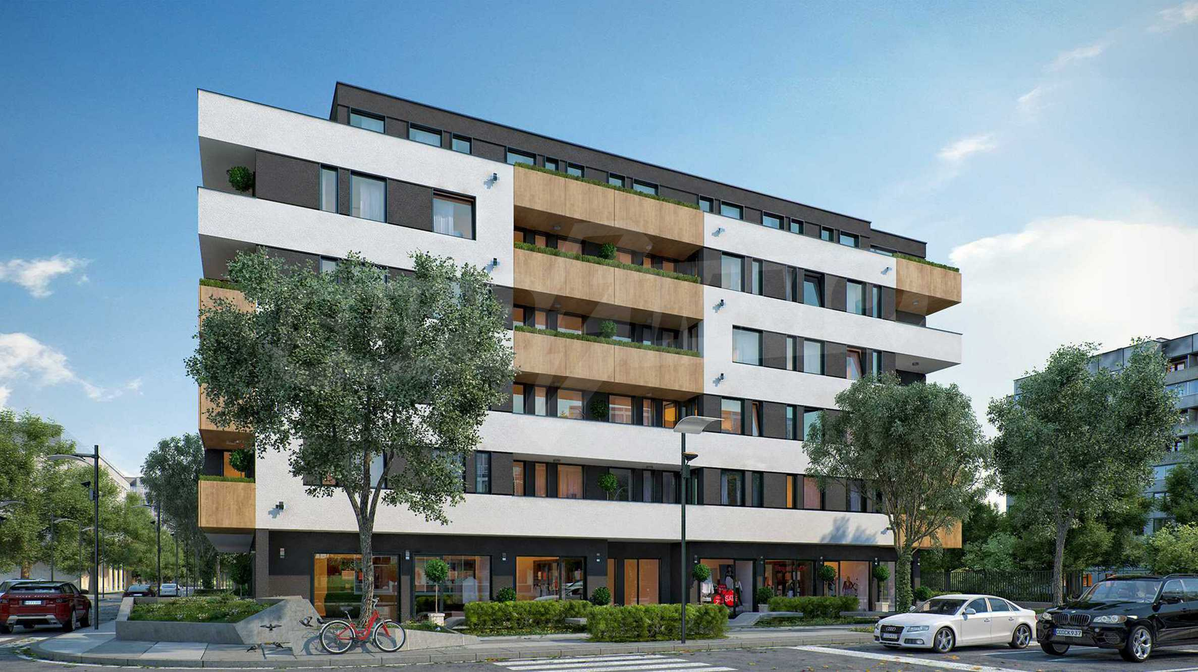 Shops, garages & parking spaces for sale in Comfort - Ovcha Kupel - new building near metro station 7