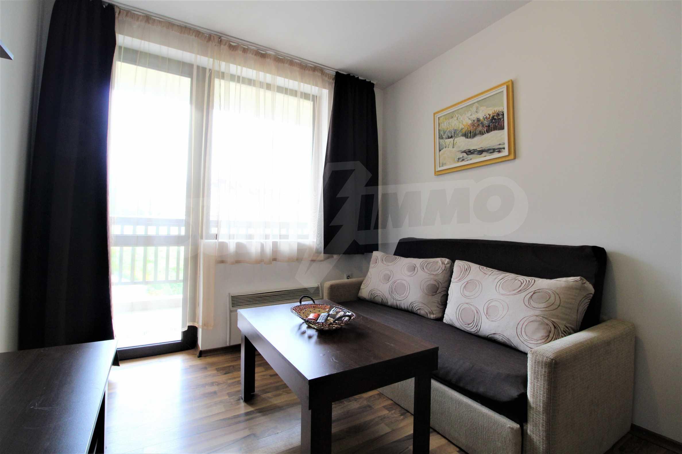 Обзаведен двустаен апартамент, разположен в СПА комплекс Мария Антоанета, само на метри от ски лифта в Банско 9