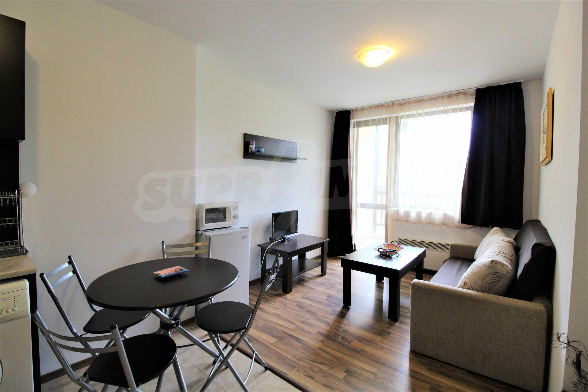 Обзаведен двустаен апартамент, разположен в СПА комплекс Мария Антоанета, само на метри от ски лифта в Банско 10