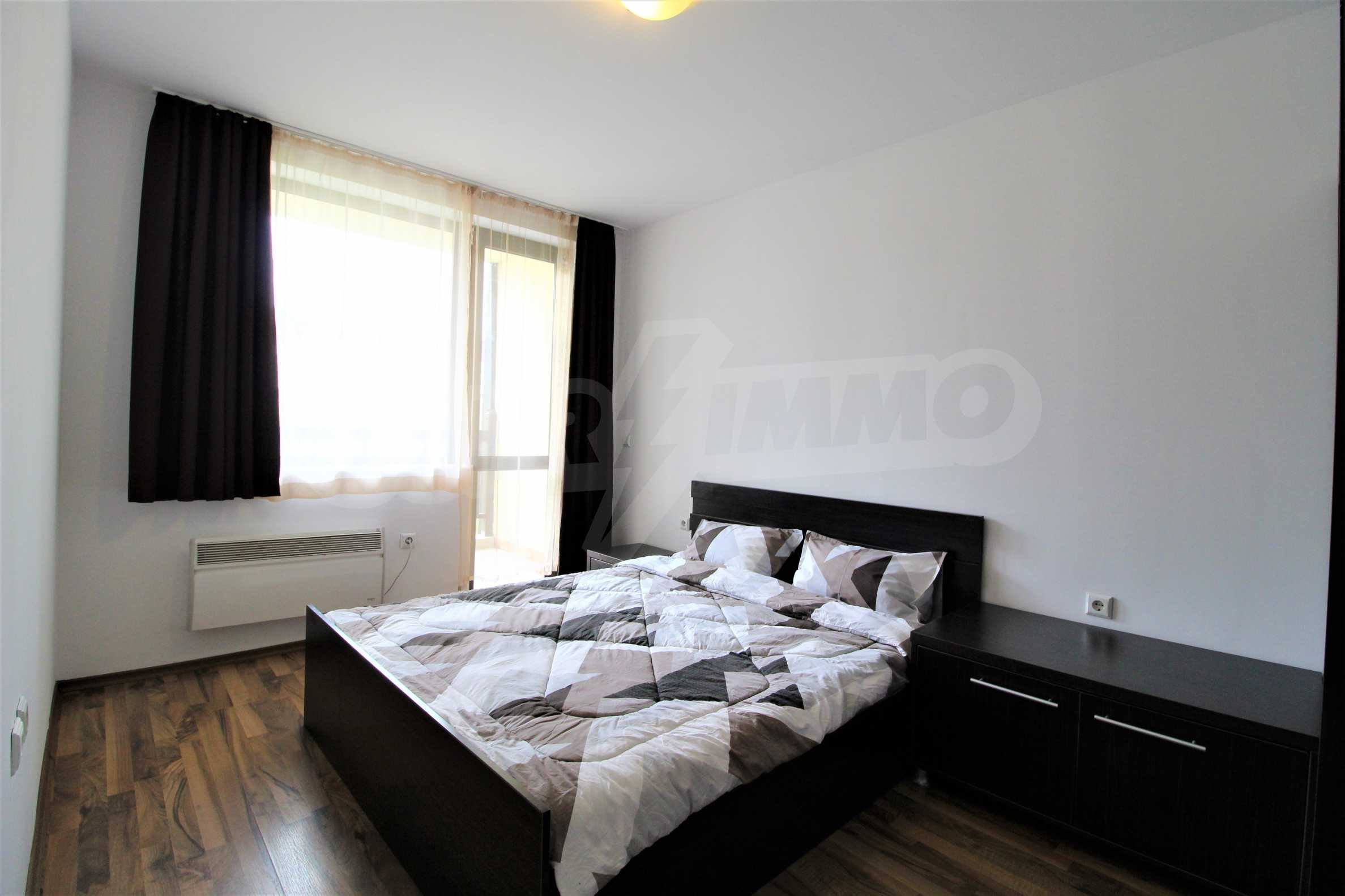 Обзаведен двустаен апартамент, разположен в СПА комплекс Мария Антоанета, само на метри от ски лифта в Банско 12