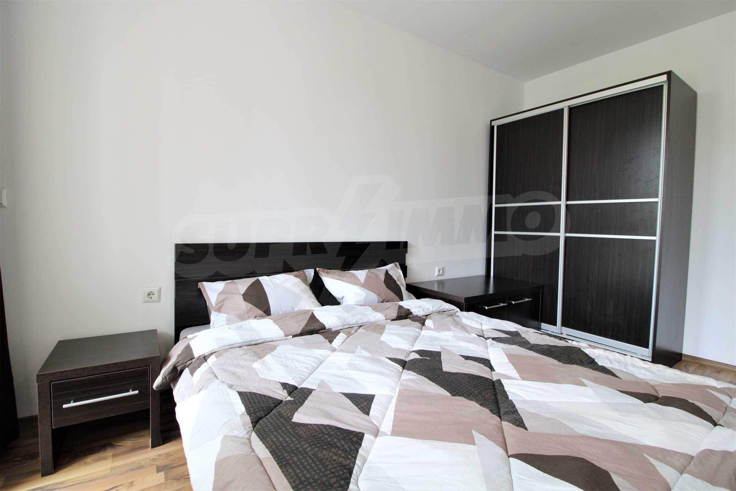 Обзаведен двустаен апартамент, разположен в СПА комплекс Мария Антоанета, само на метри от ски лифта в Банско 13