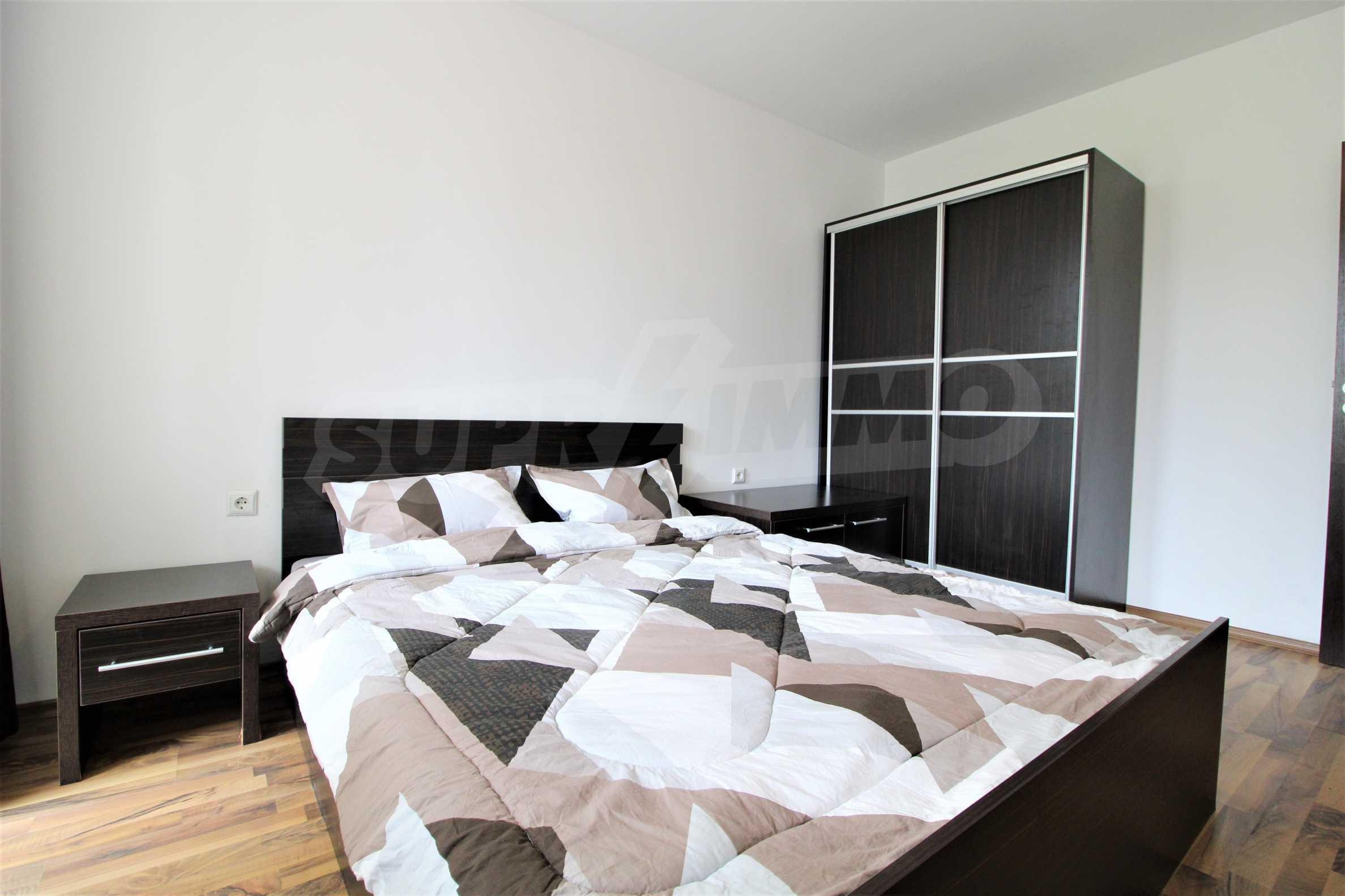 Обзаведен двустаен апартамент, разположен в СПА комплекс Мария Антоанета, само на метри от ски лифта в Банско 14