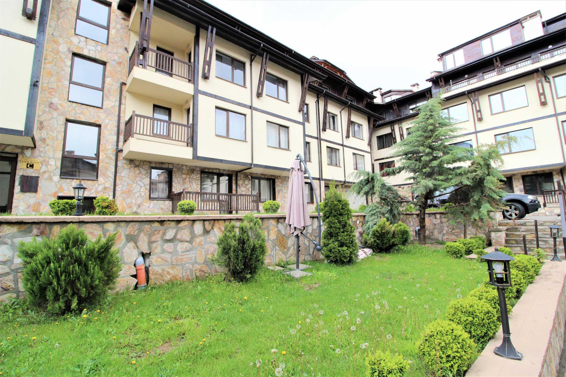 Обзаведен двустаен апартамент, разположен в СПА комплекс Мария Антоанета, само на метри от ски лифта в Банско 2