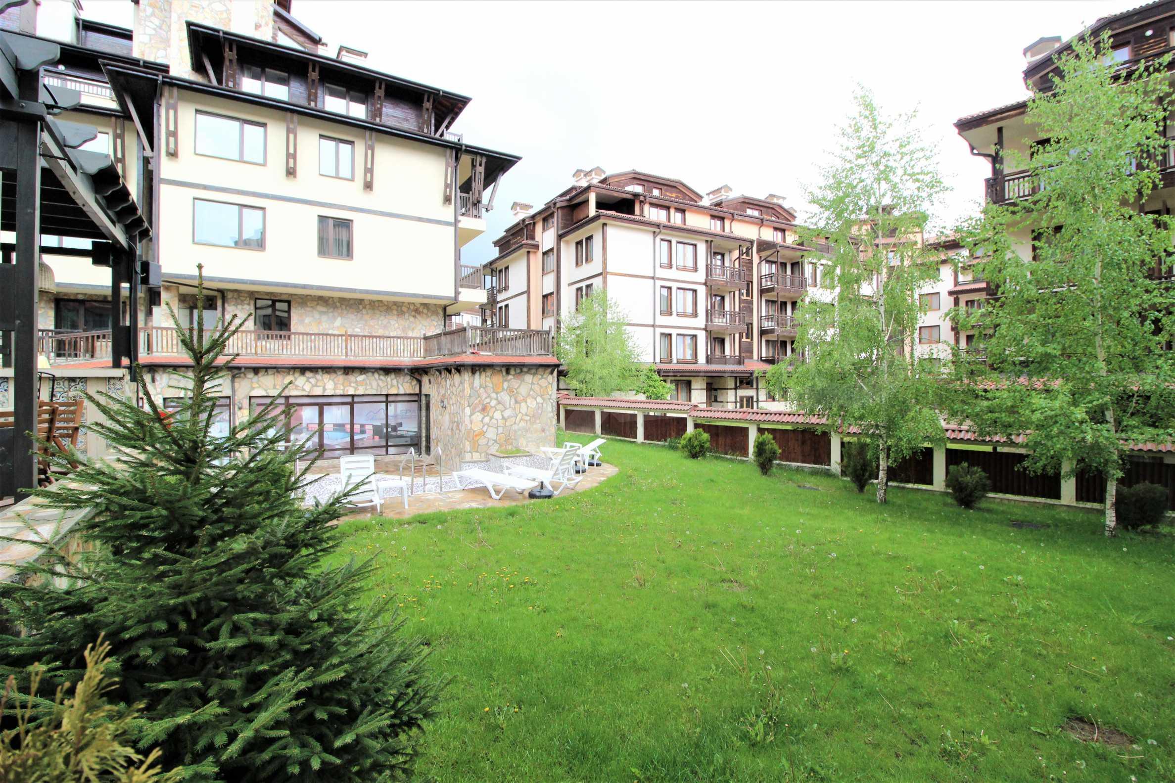 Обзаведен двустаен апартамент, разположен в СПА комплекс Мария Антоанета, само на метри от ски лифта в Банско 3