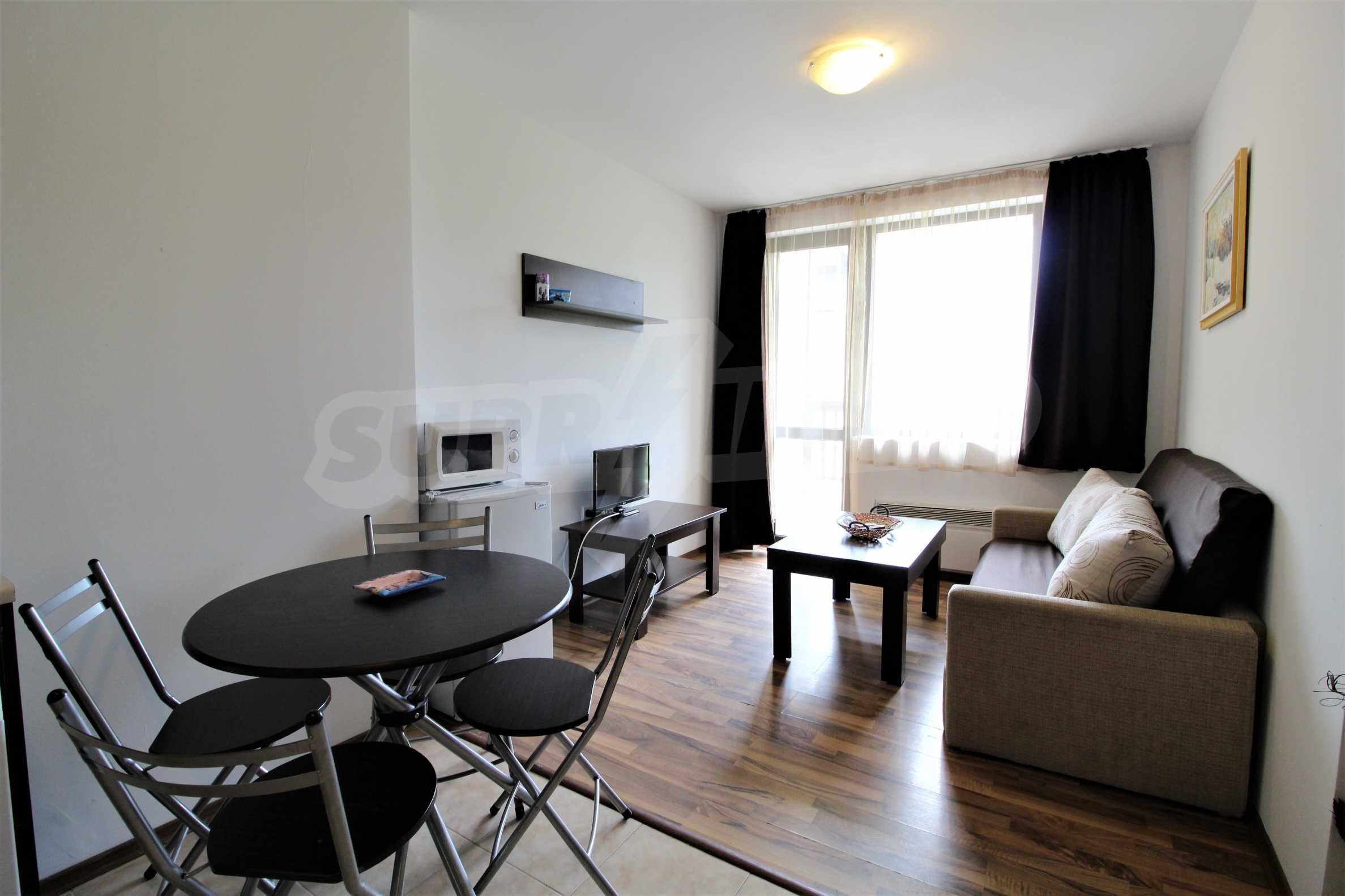 Обзаведен двустаен апартамент, разположен в СПА комплекс Мария Антоанета, само на метри от ски лифта в Банско 5