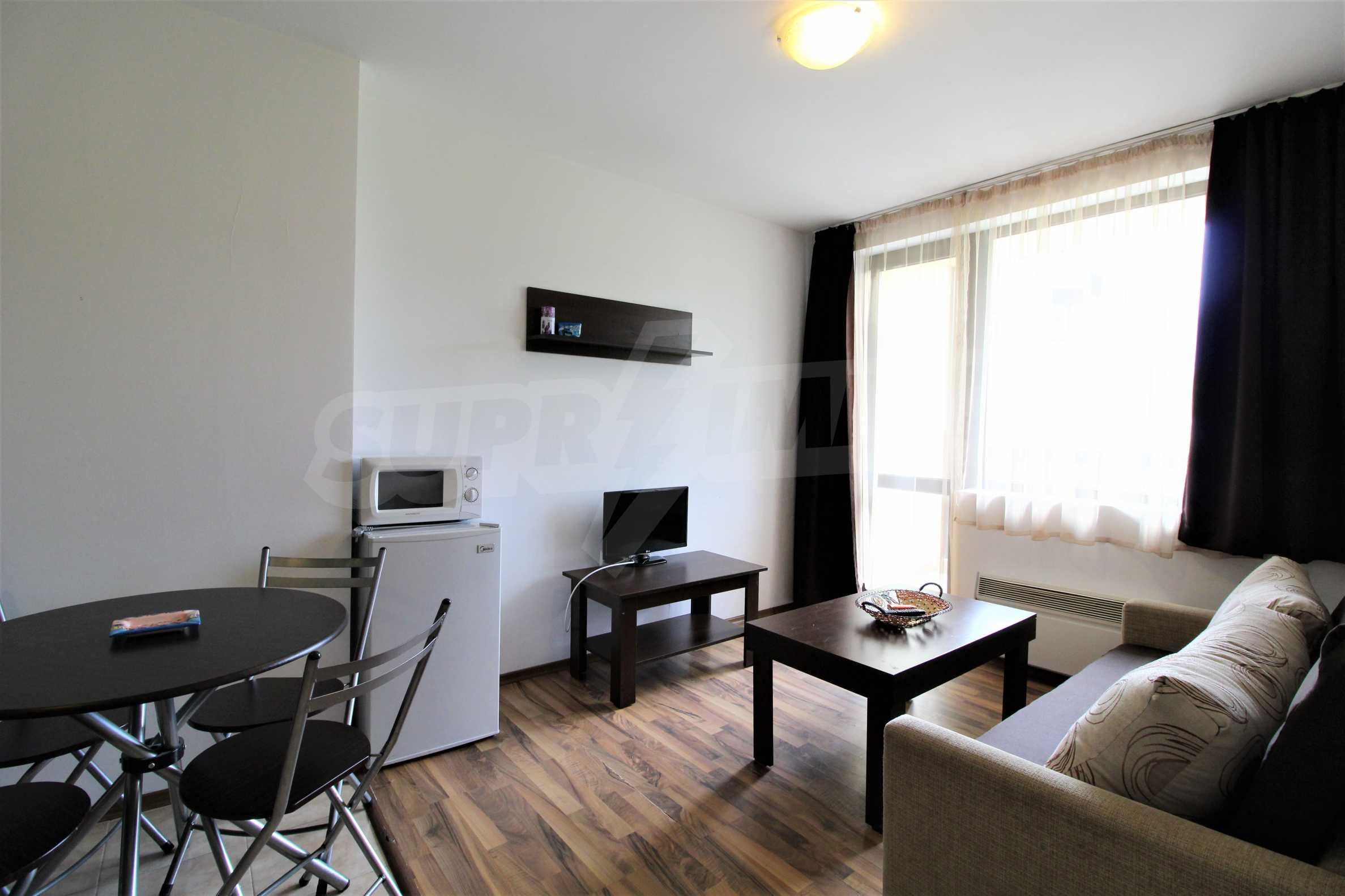 Обзаведен двустаен апартамент, разположен в СПА комплекс Мария Антоанета, само на метри от ски лифта в Банско 8