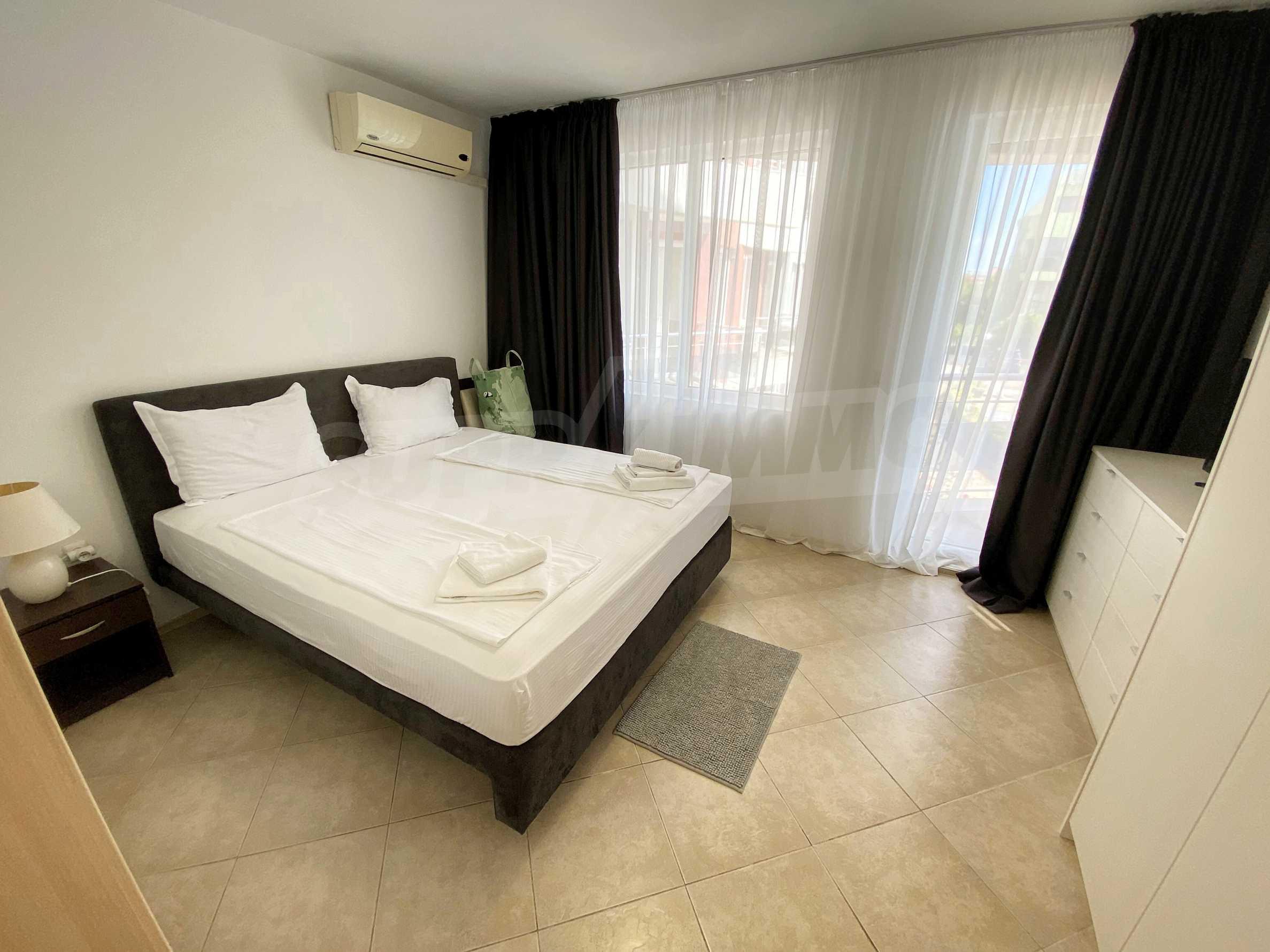 Тристаен апартамент близо до плажа в комплекс Емберли в Лозенец (ап. №201) 17