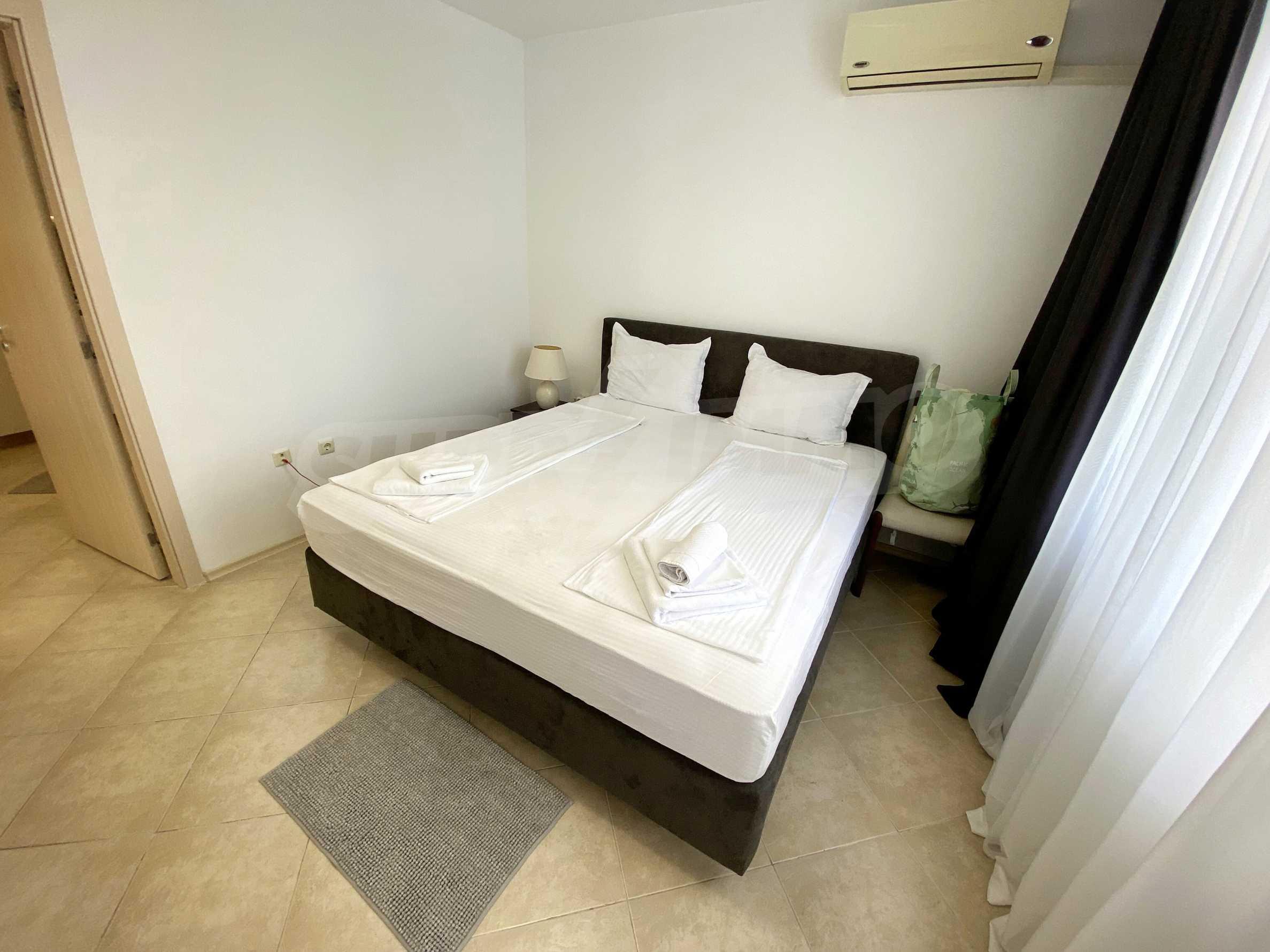 Тристаен апартамент близо до плажа в комплекс Емберли в Лозенец (ап. №201) 18