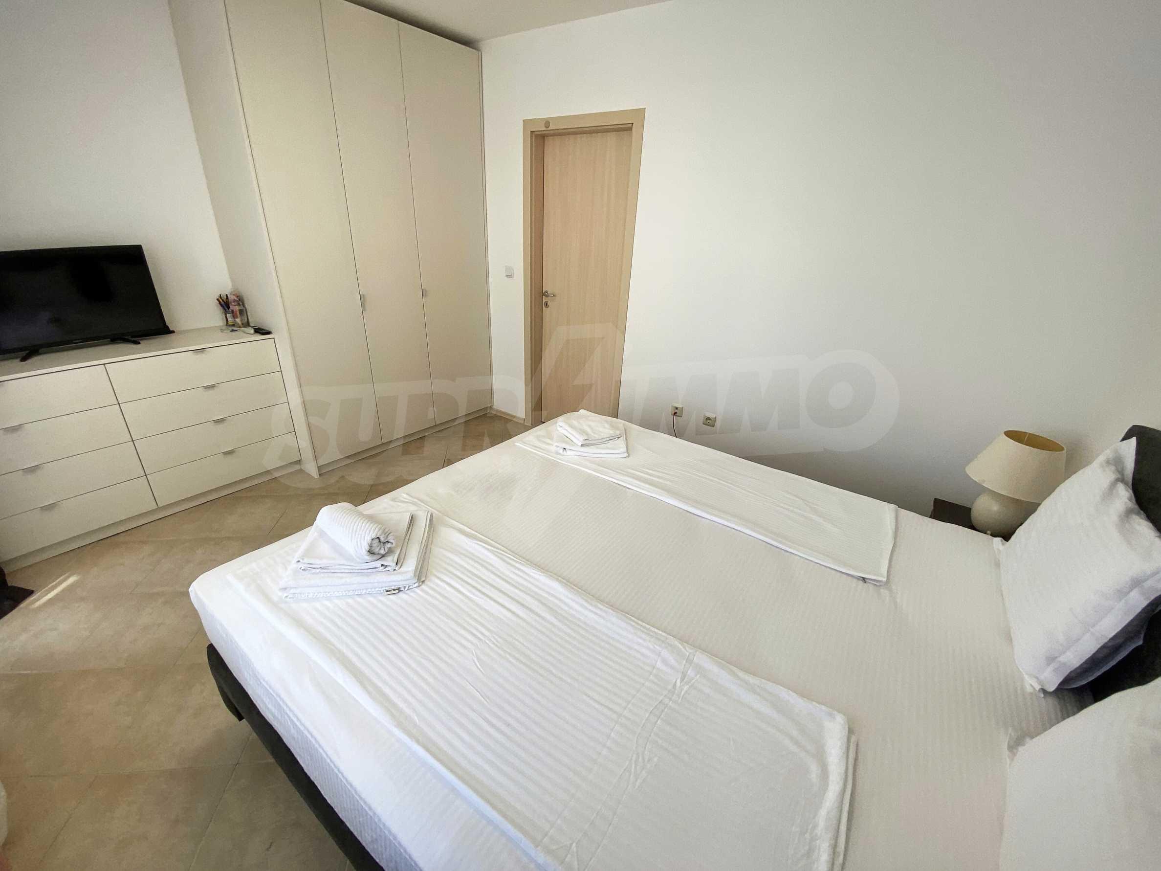 Тристаен апартамент близо до плажа в комплекс Емберли в Лозенец (ап. №201) 19