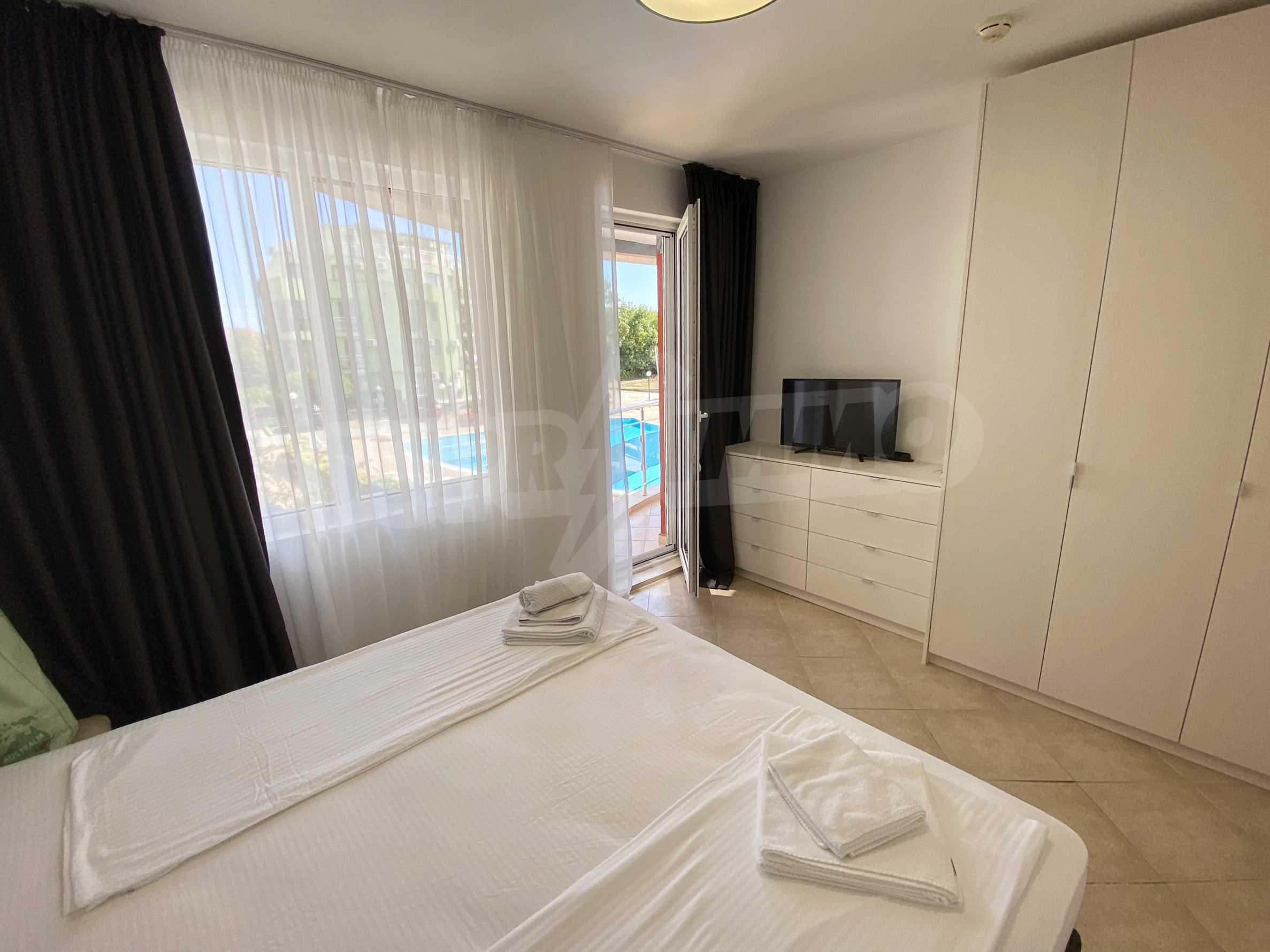 Тристаен апартамент близо до плажа в комплекс Емберли в Лозенец (ап. №201) 20