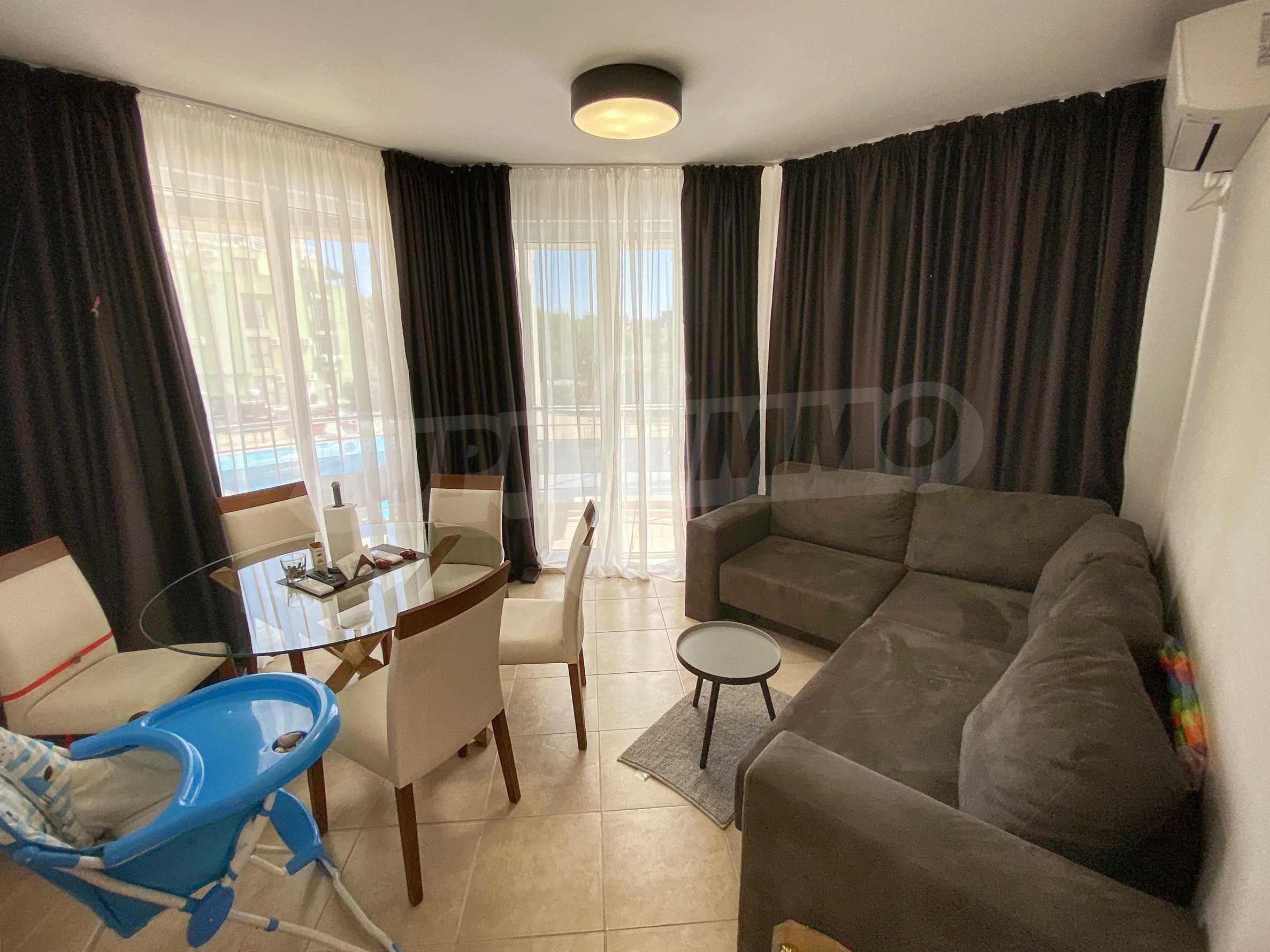 Тристаен апартамент близо до плажа в комплекс Емберли в Лозенец (ап. №201) 9