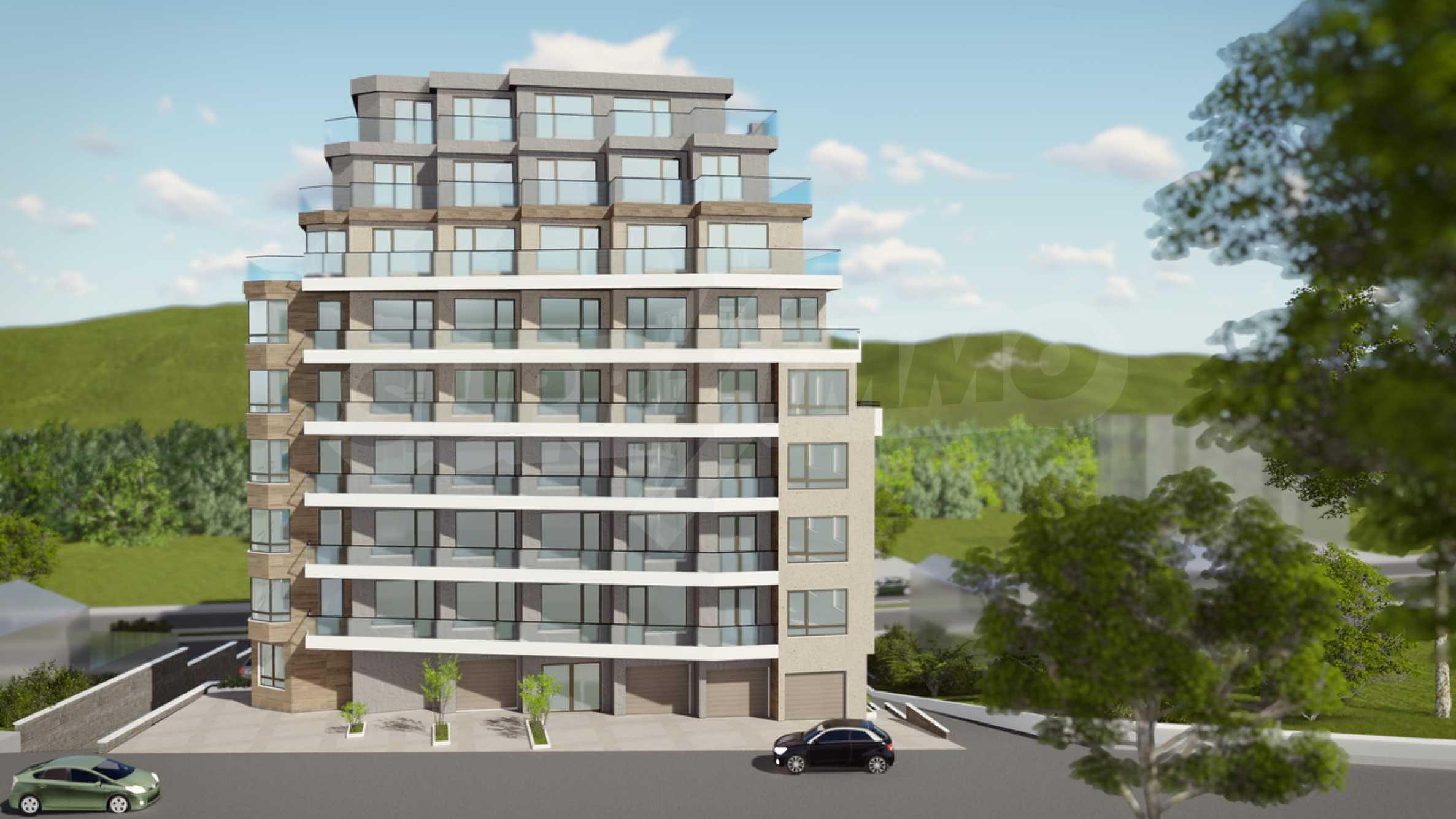 Нова сграда с гледка към море и езеро до Техническия университет 4