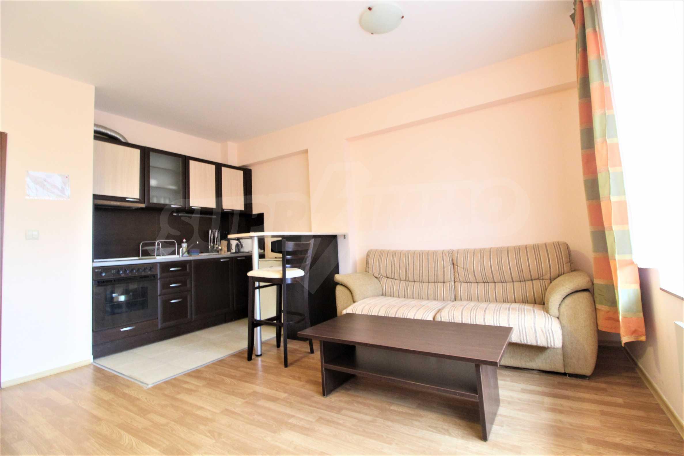 Обзаведен двустаен апартамент, разположен в близост до ски лифта в Банско