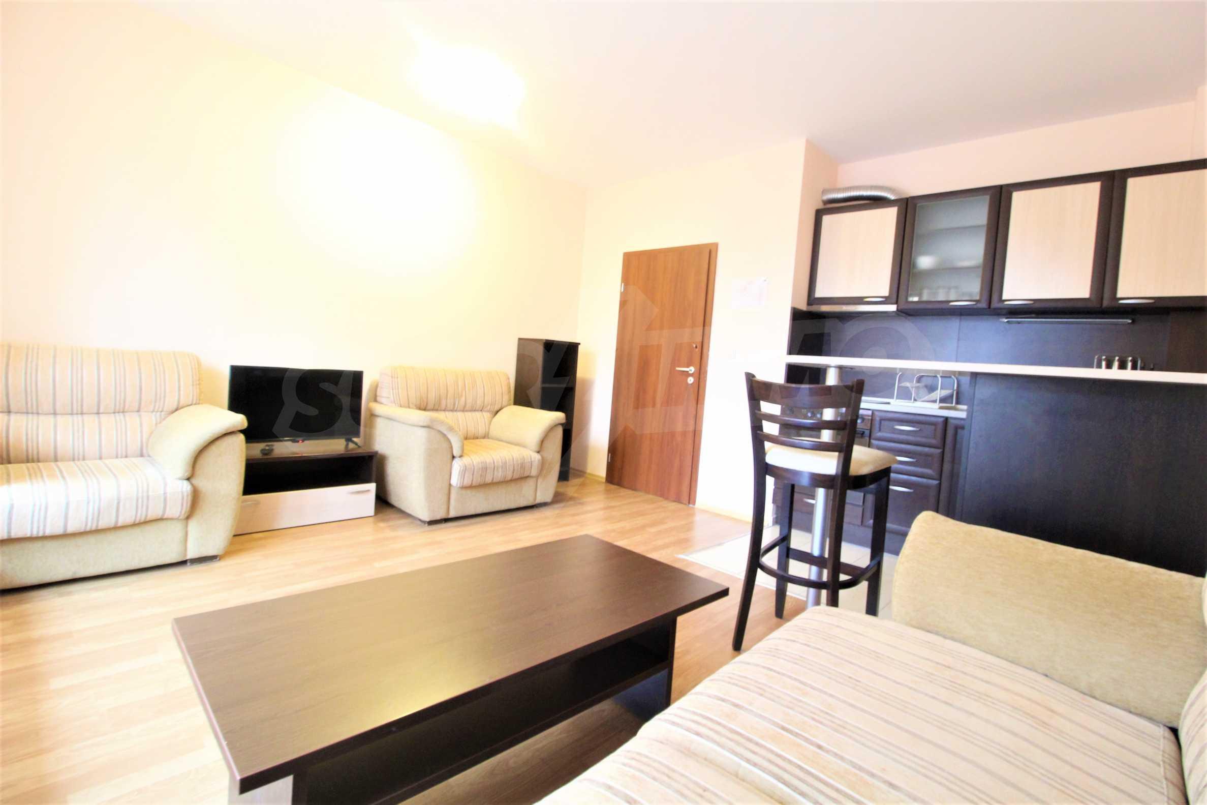 Обзаведен двустаен апартамент, разположен в близост до ски лифта в Банско 1
