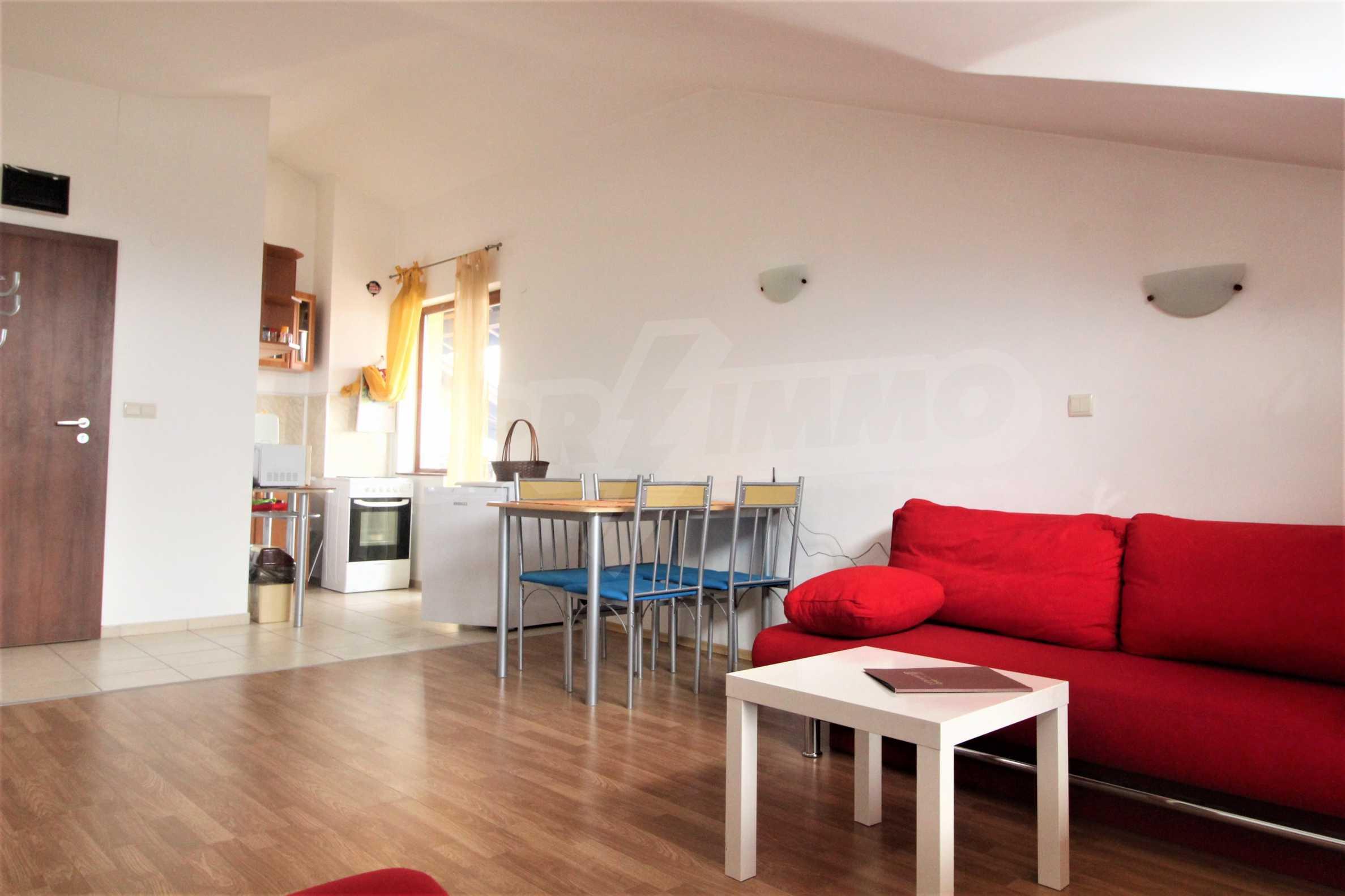Обзаведено двустайно жилище в комплекс Топ Лодж в близост до ски лифта в Банско 11