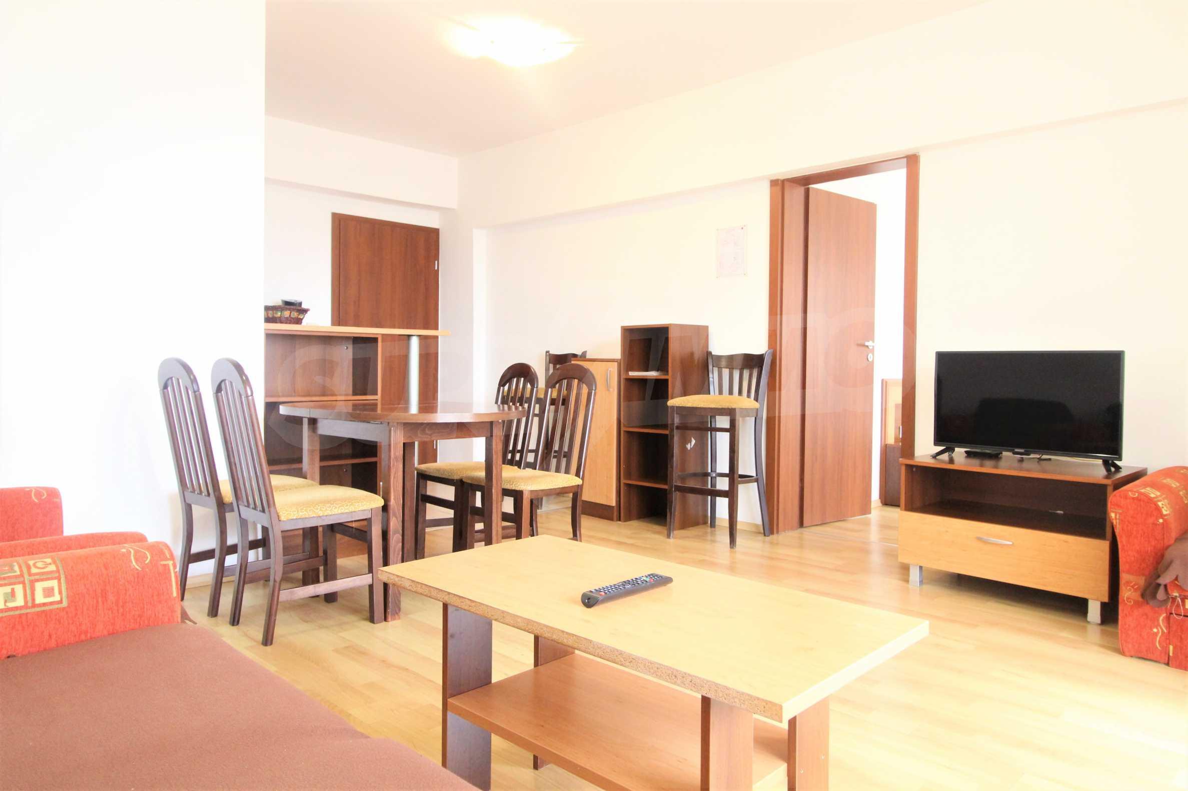 Уютен тристаен апартамент, разположен в комплекс Топ Лодж, само на метри от ски лифта в Банско