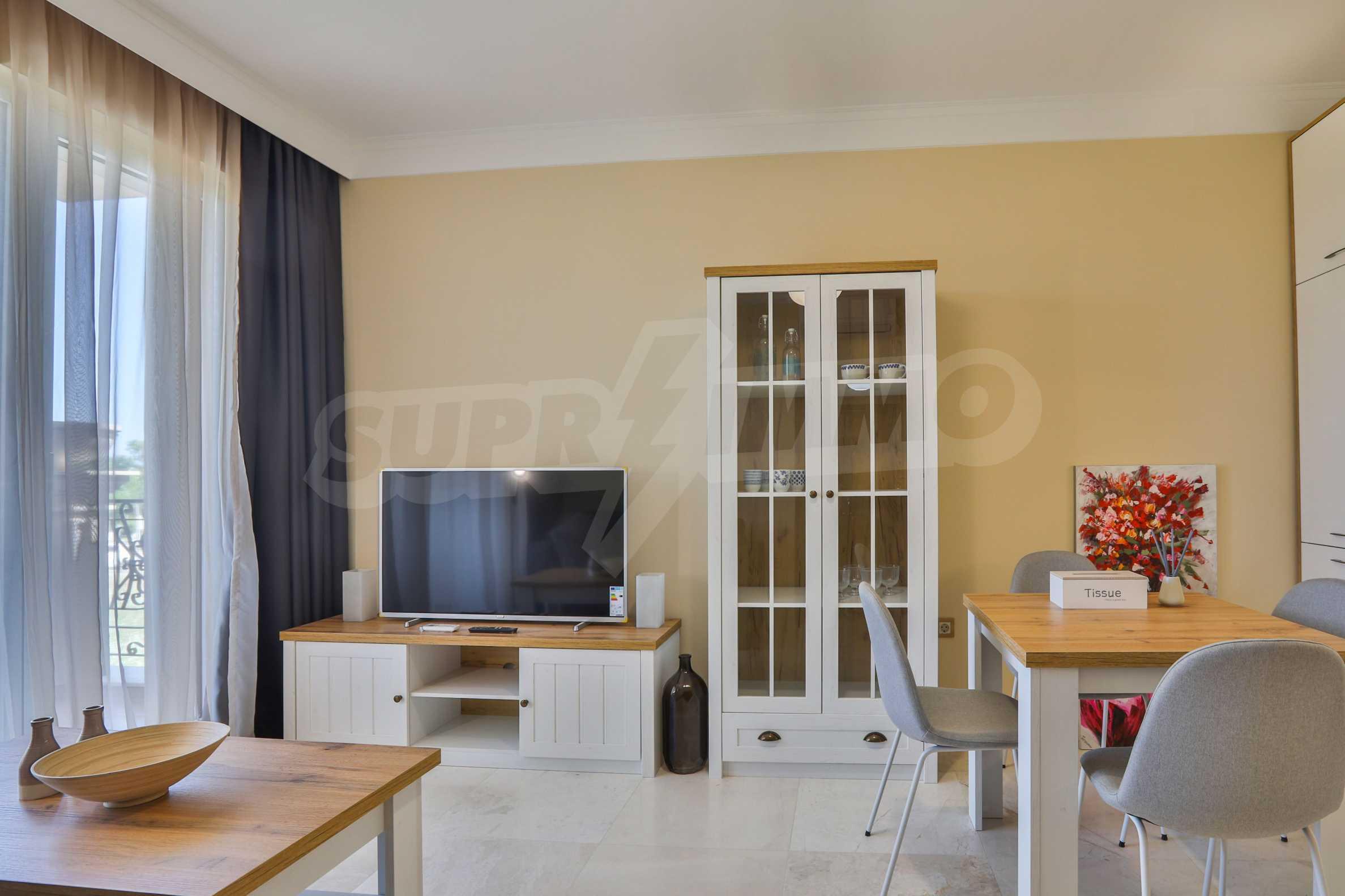 Първокласен двустаен апартамент в Belle Époque Beach Residence (ап. №A 206)