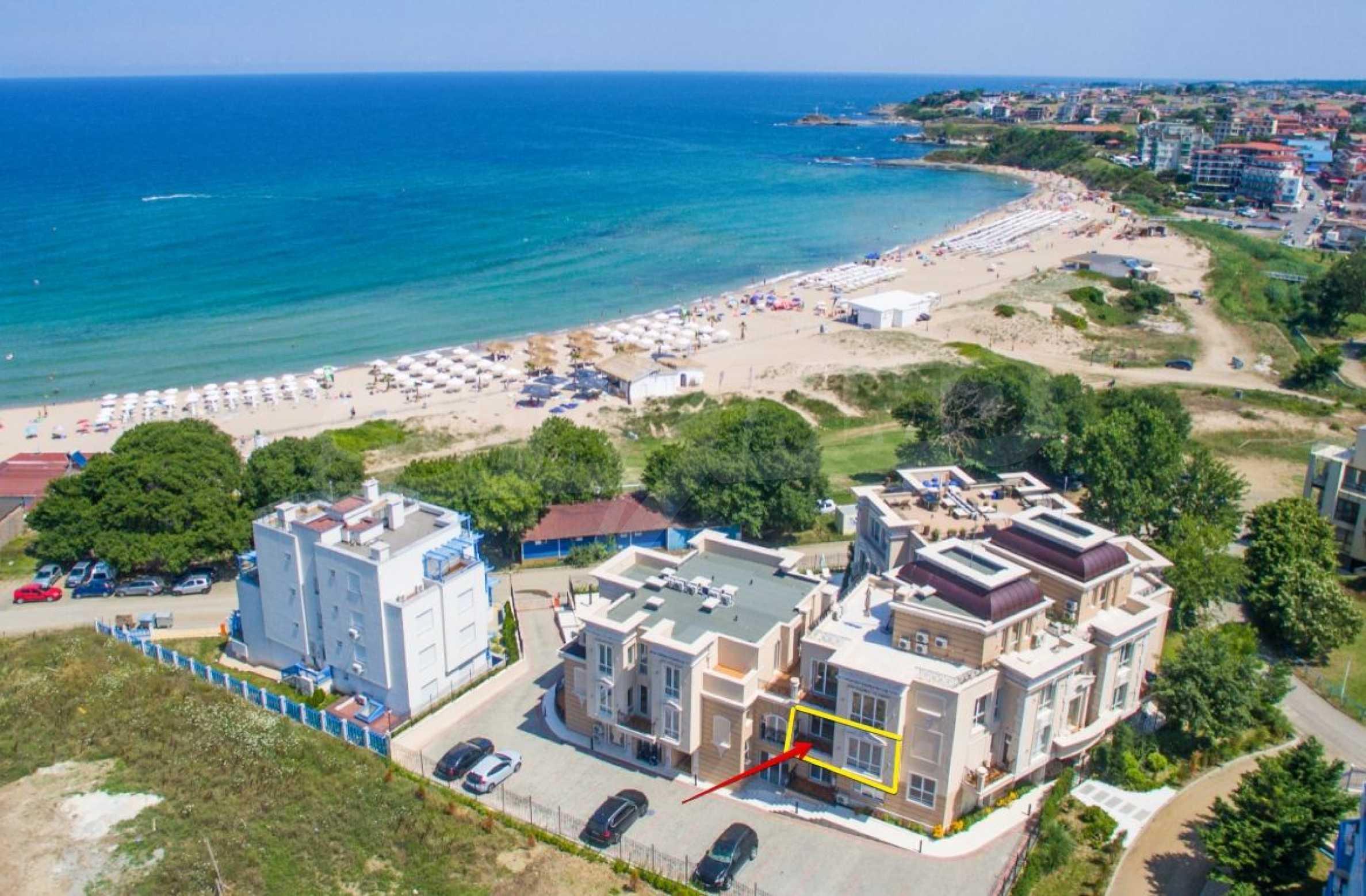 Първокласен двустаен апартамент в Belle Époque Beach Residence (ап. №A 206) 20