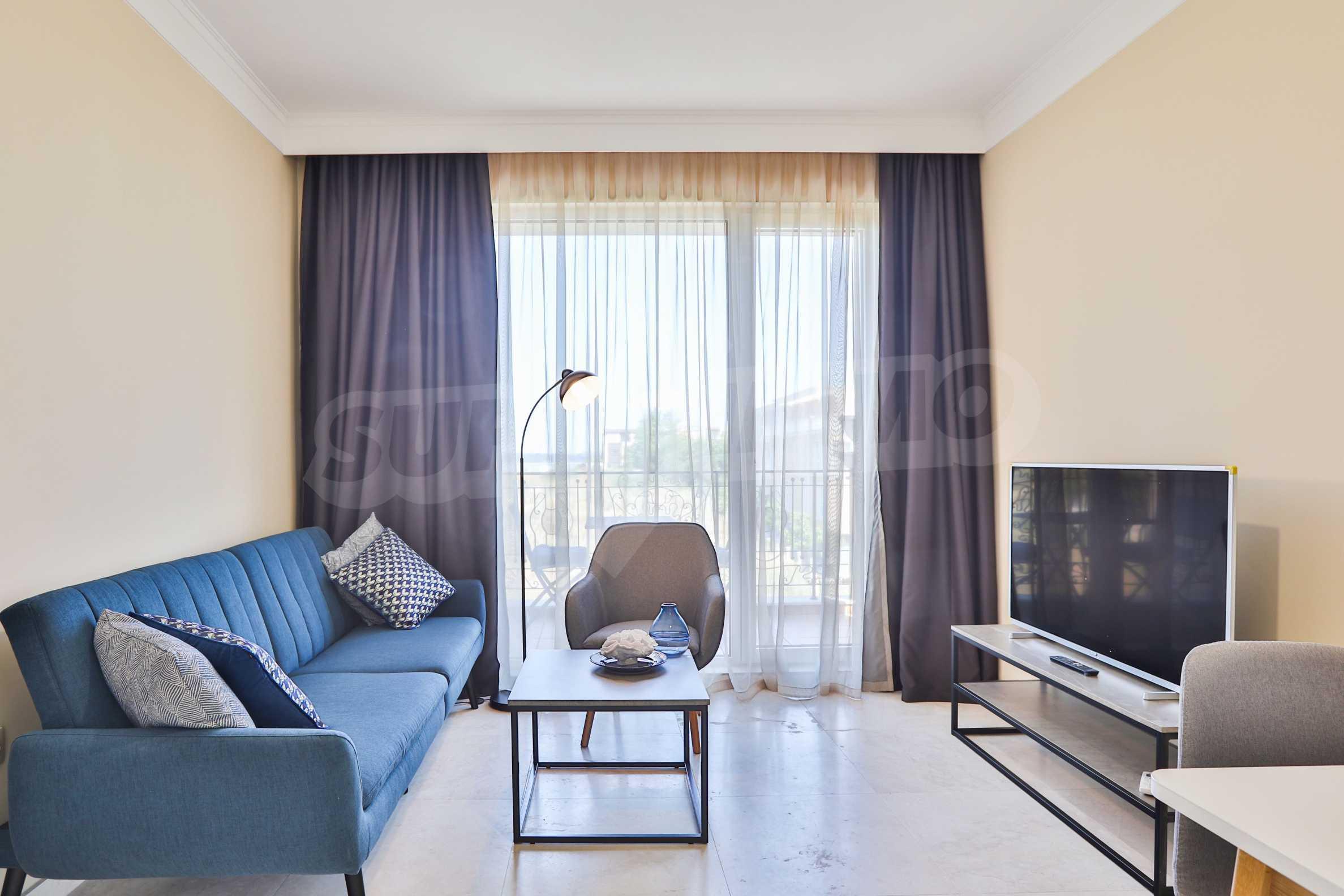 Двустаен апартамент в бутиковата резиденция до Централен плаж - Belle Époque (ап. №A 305) 1