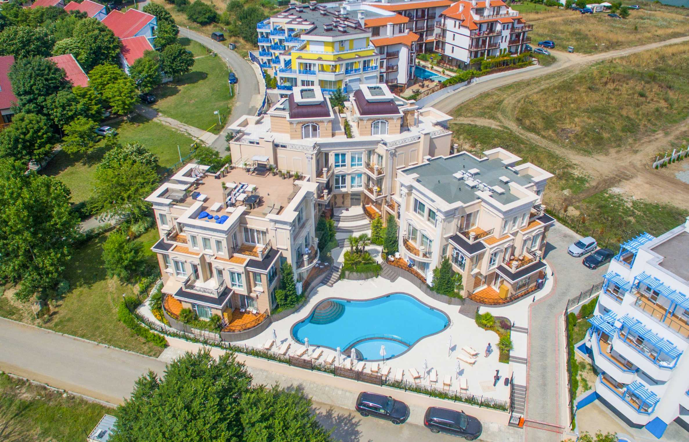 Двустаен апартамент в бутиковата резиденция до Централен плаж - Belle Époque (ап. №A 305) 25
