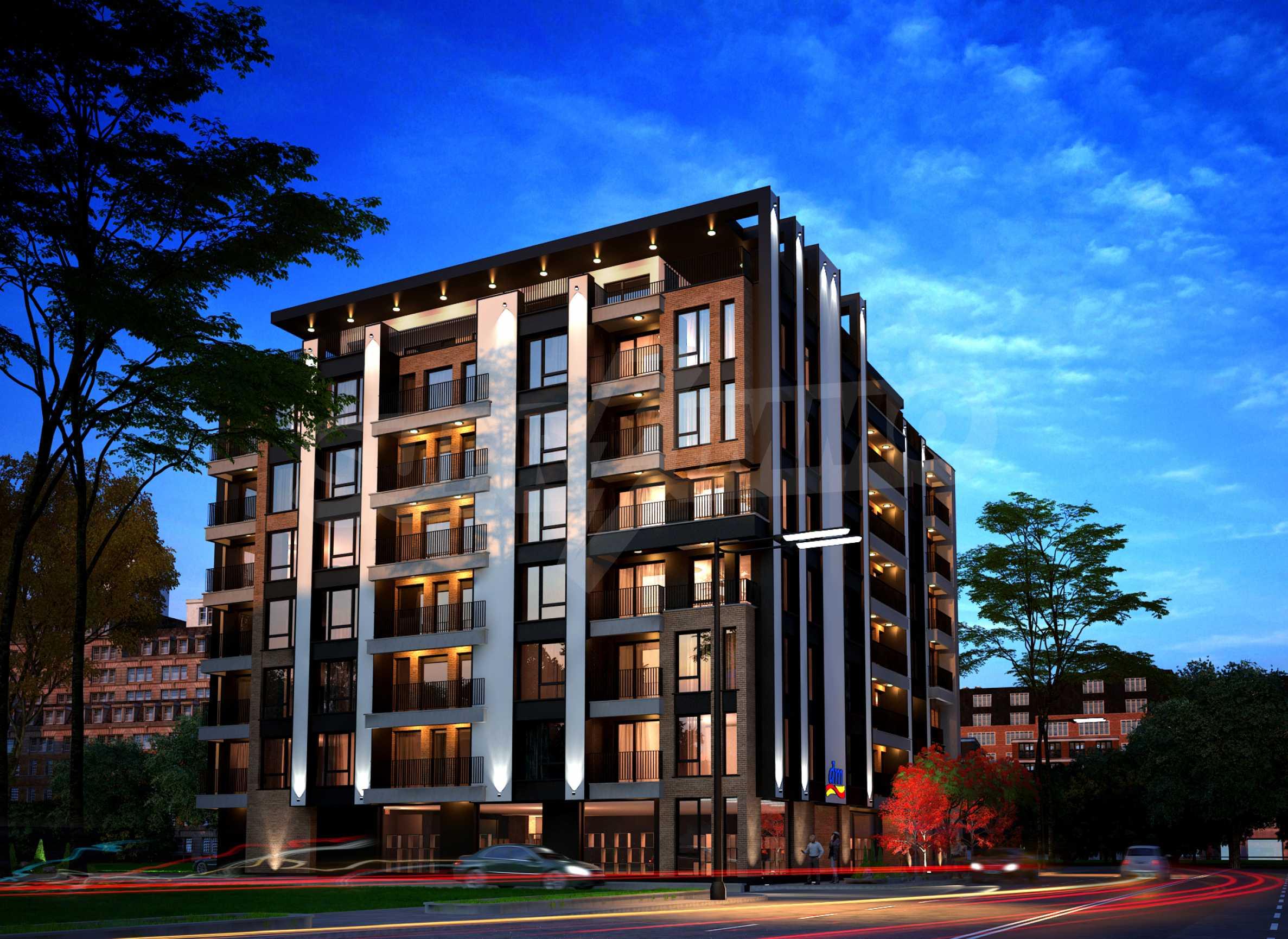 Bissera Residence - ein modernes Gebäude neben Geo Milev 1