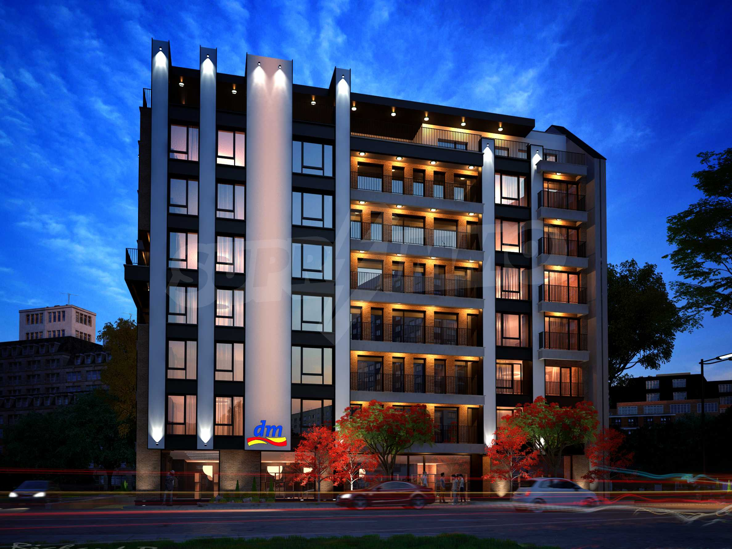 Bissera Residence - a modern building near Geo Milev Park 2