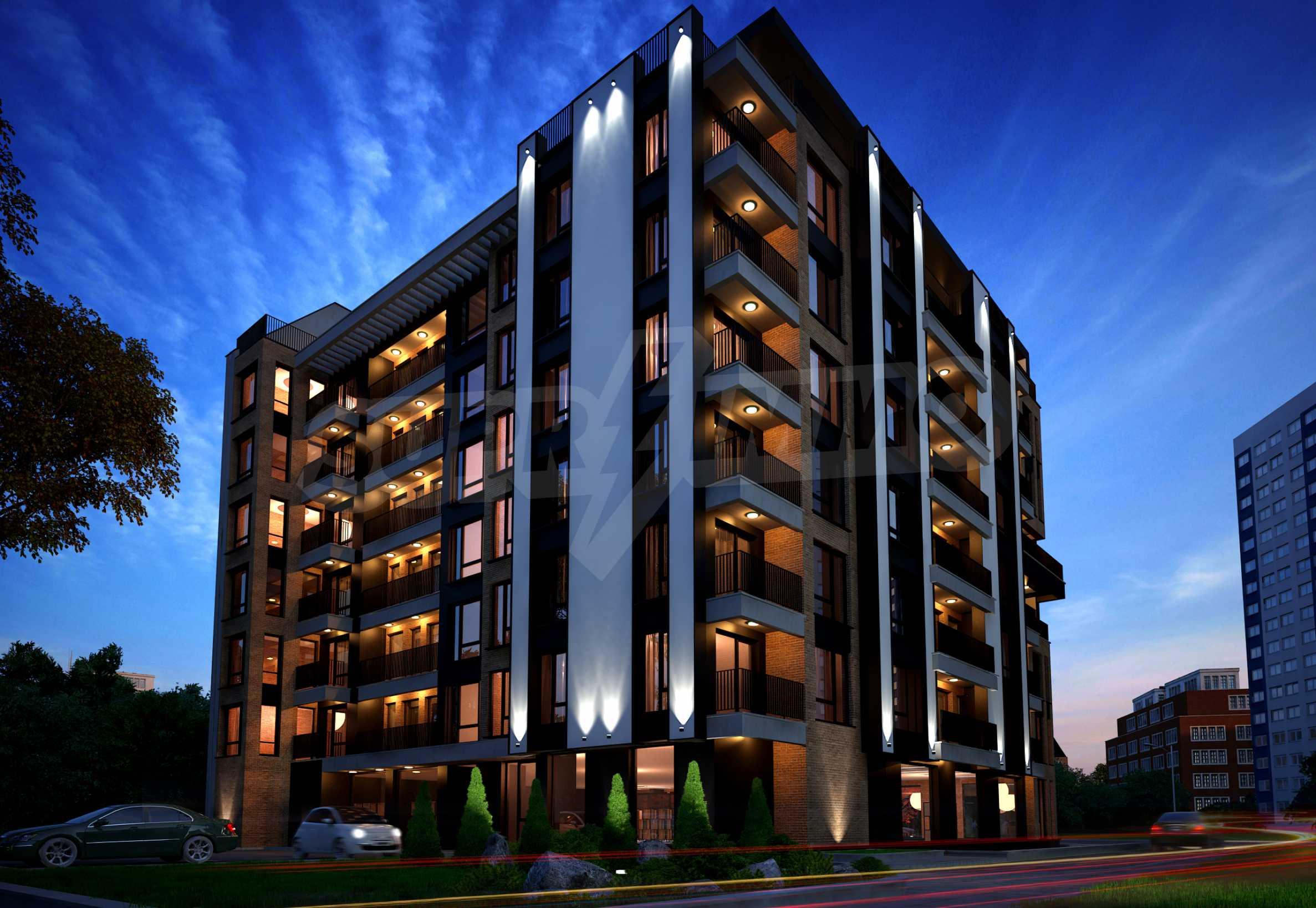 Bissera Residence - a modern building near Geo Milev Park 3