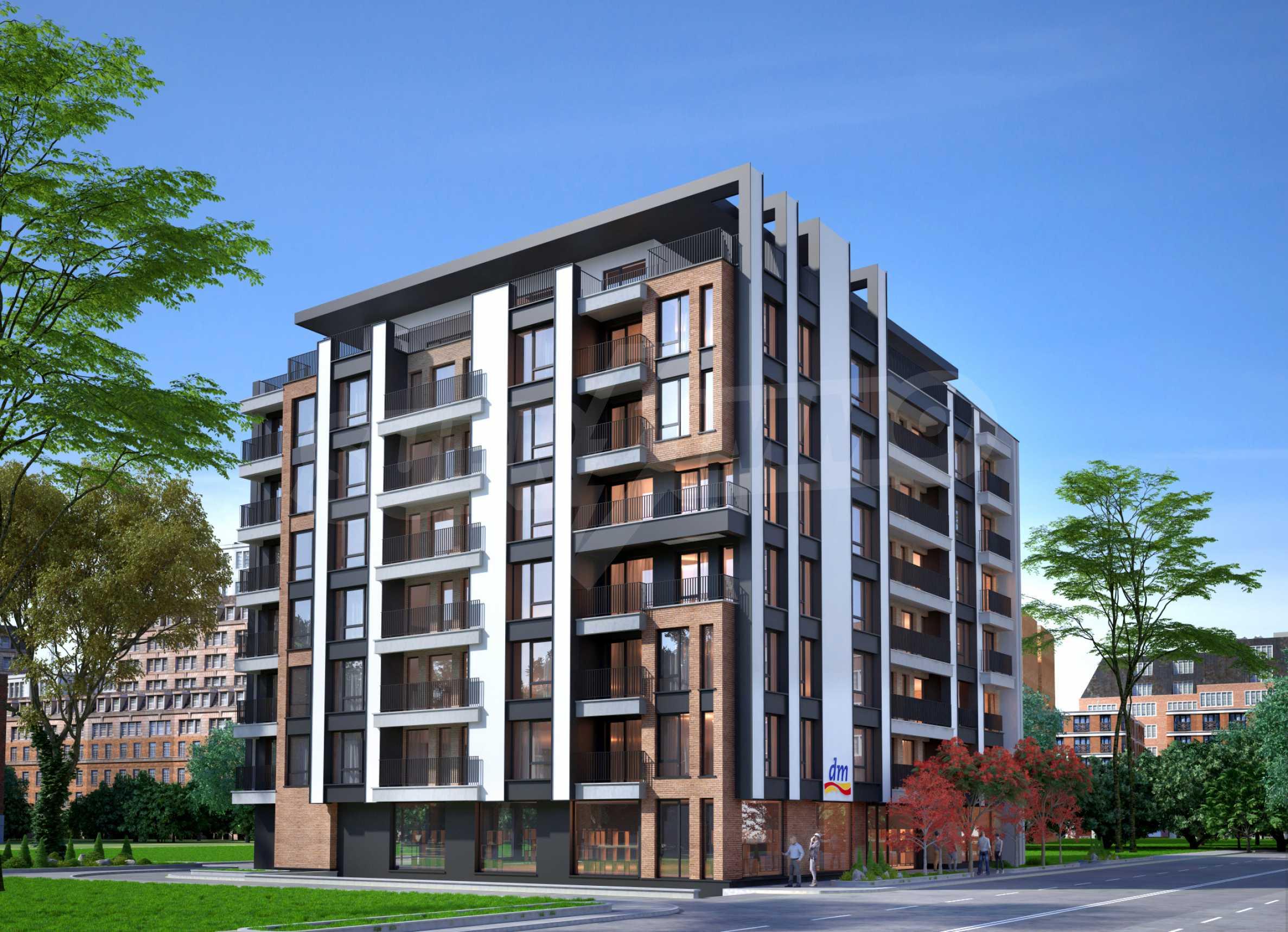Bissera Residence - ein modernes Gebäude neben Geo Milev 5