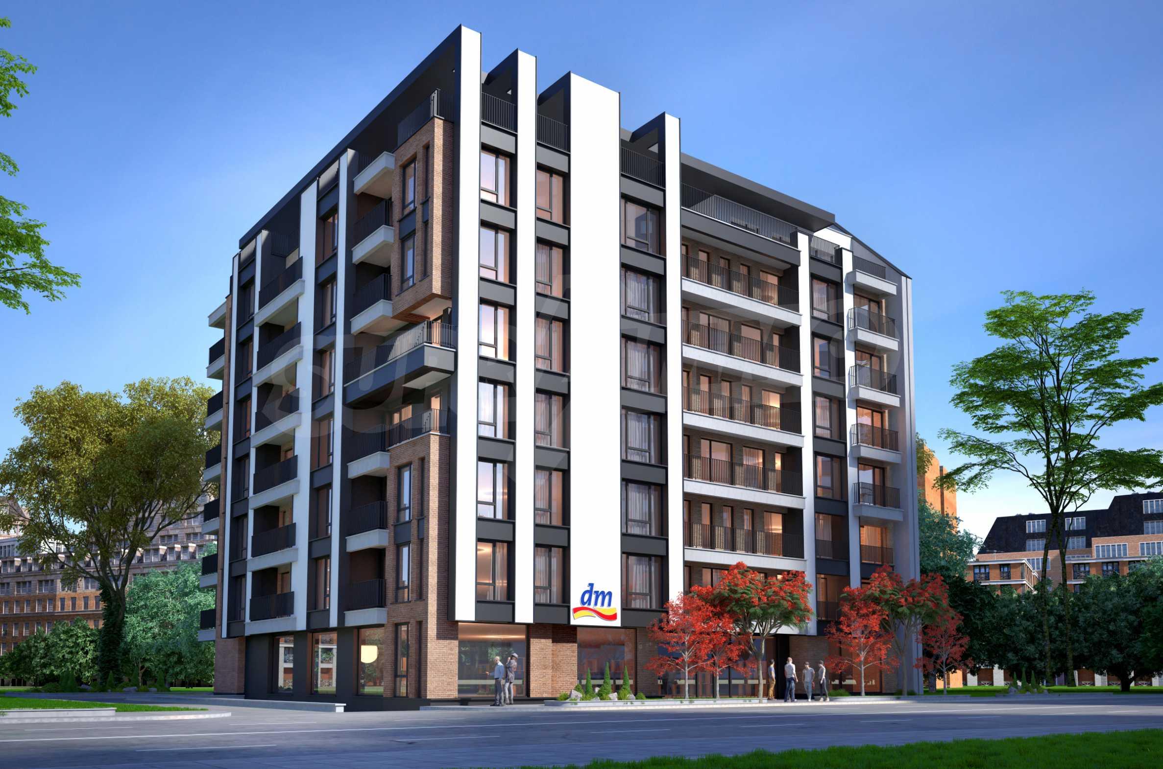 Bissera Residence - ein modernes Gebäude neben Geo Milev 6
