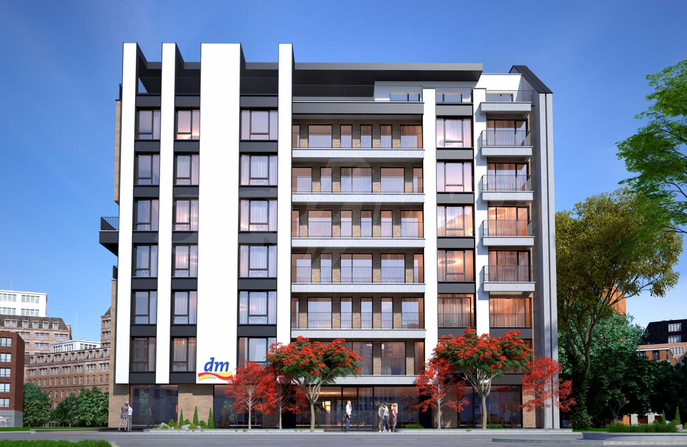 Bissera Residence - ein modernes Gebäude neben Geo Milev 7