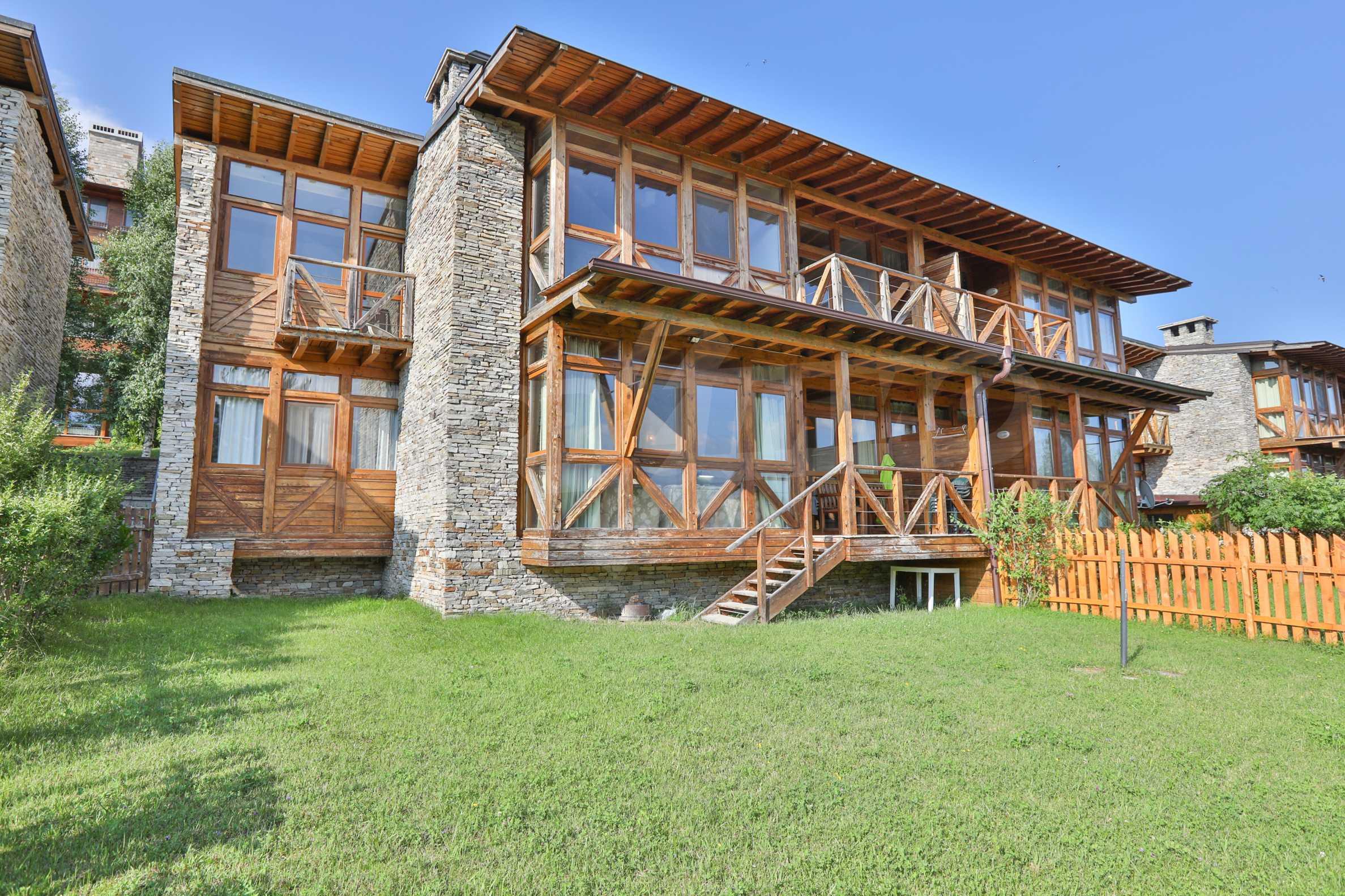 Möbliertes Haus mit Aussicht auf Pirin