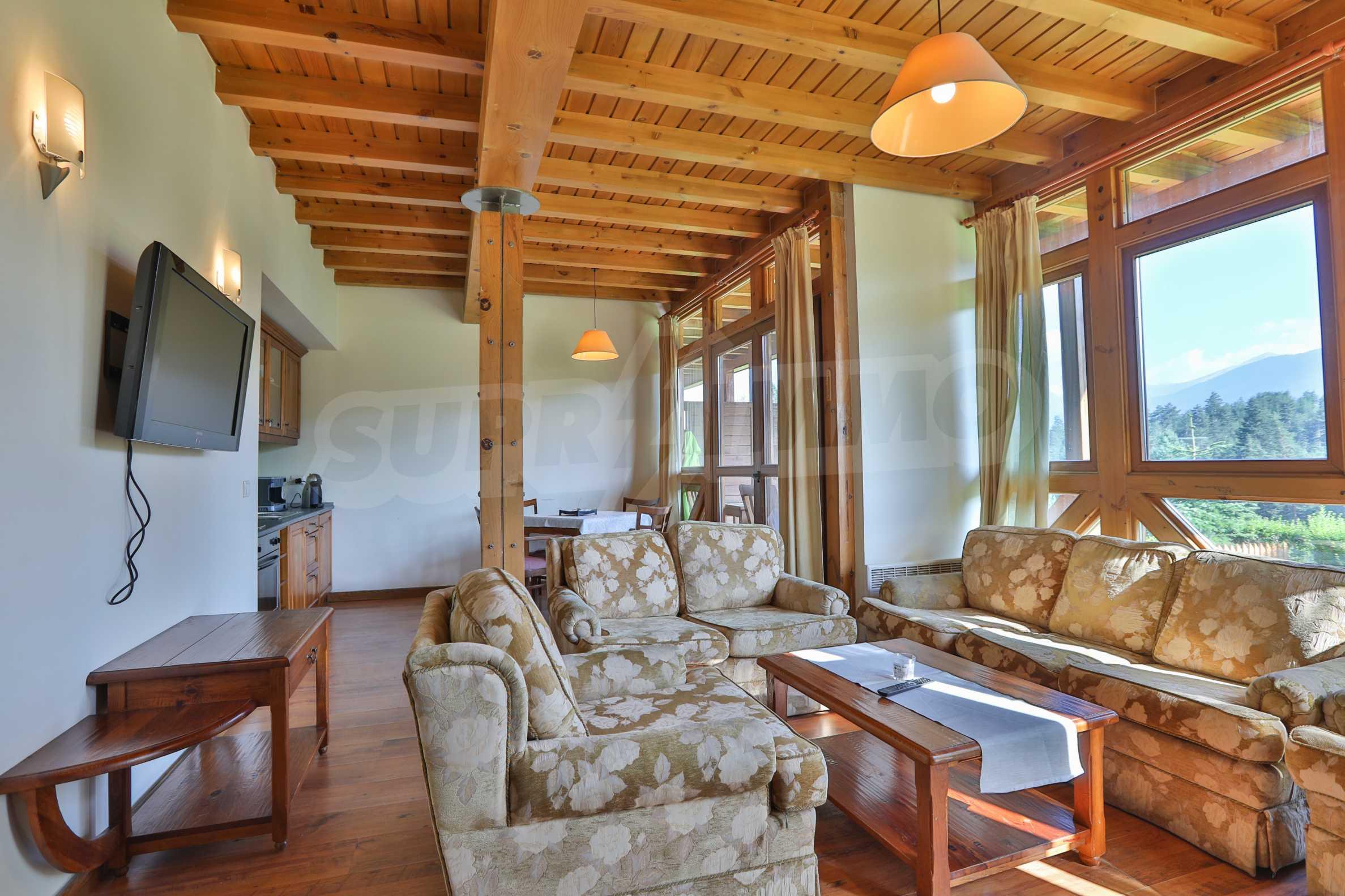 Möbliertes Haus mit Aussicht auf Pirin 1