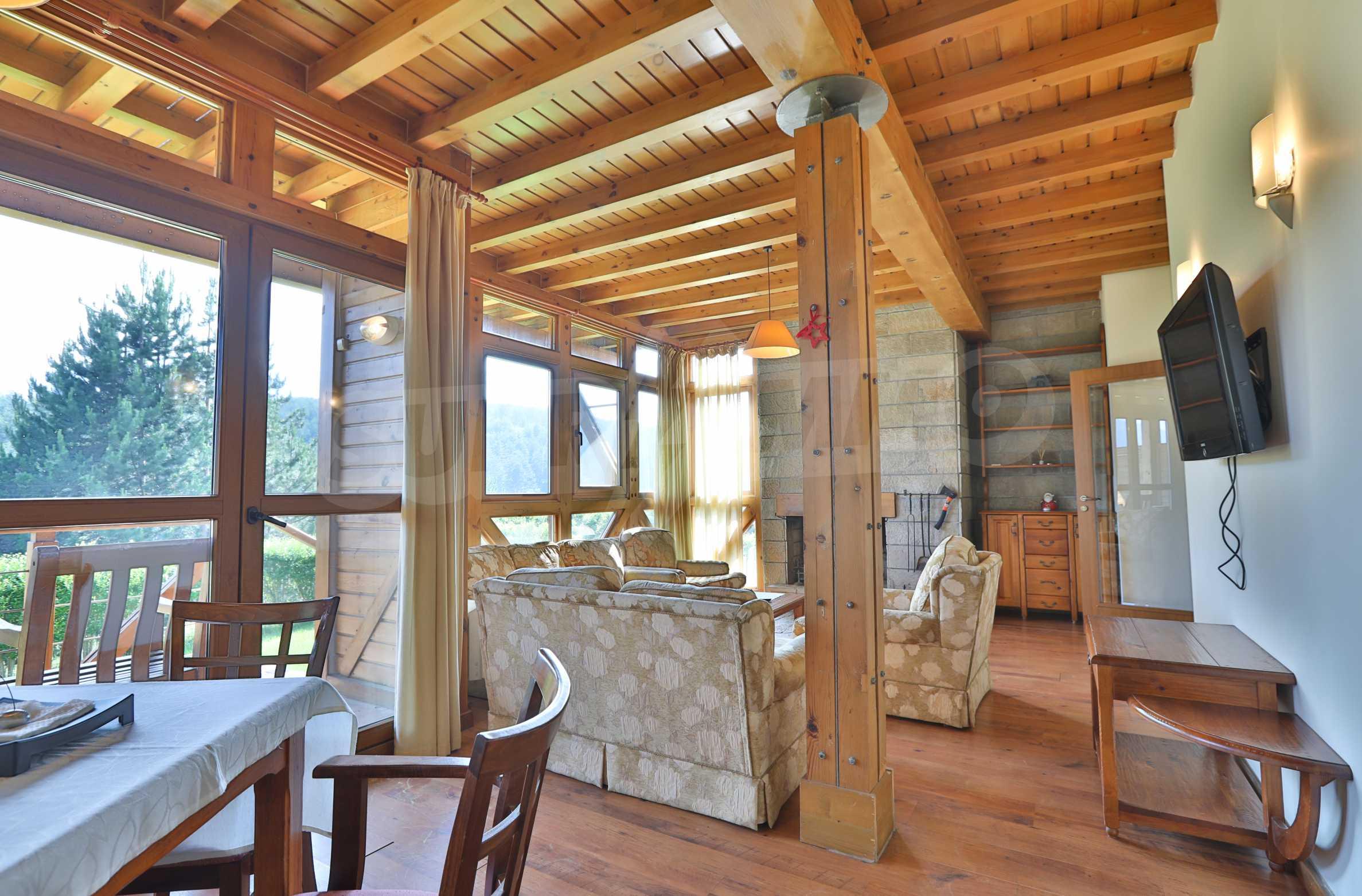 Möbliertes Haus mit Aussicht auf Pirin 3