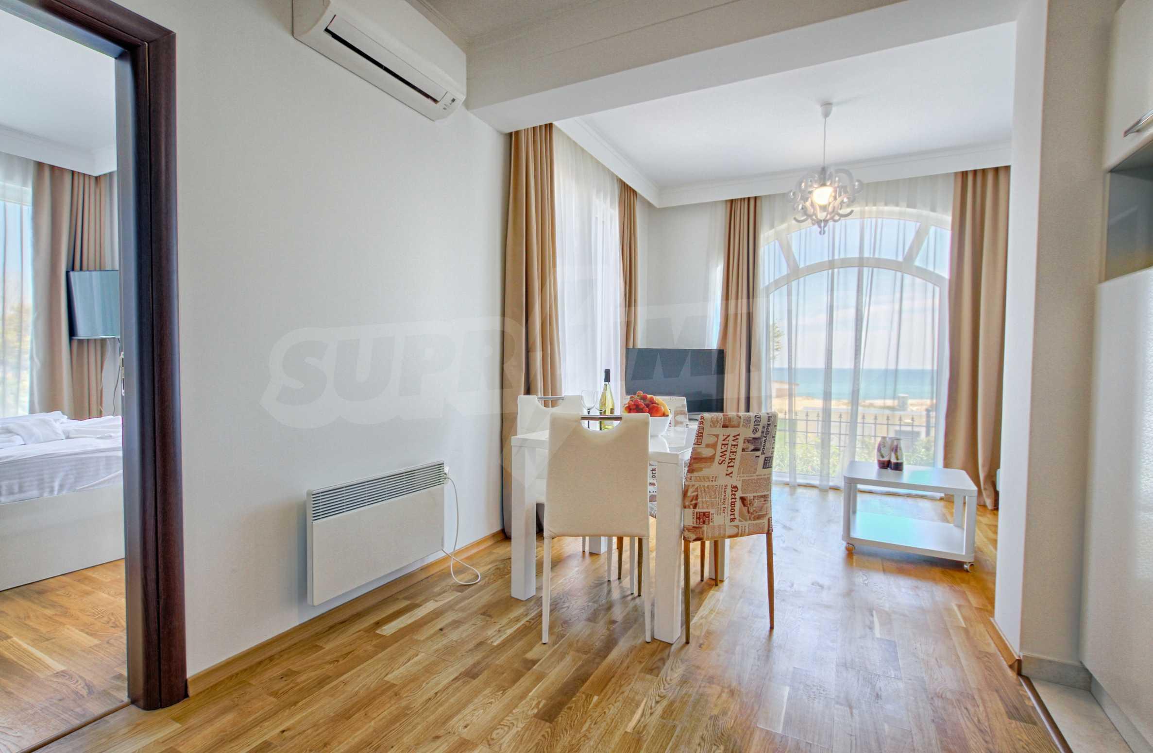Стилен двустаен апартамент под наем в Belle Époque Beach Residence 6