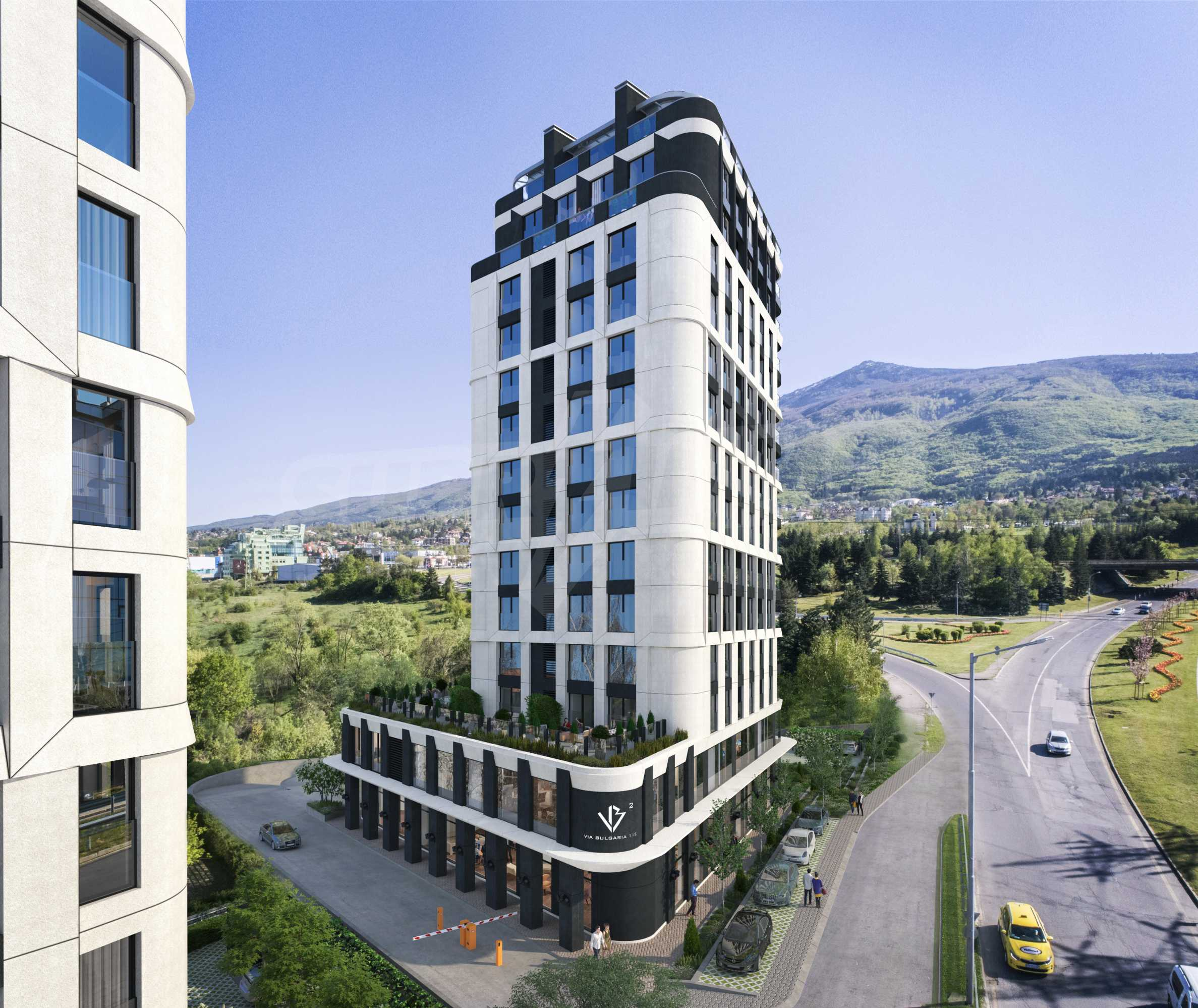 Via Bulgaria 2 - new exclusive residential building on Bulgaria Blvd. 1