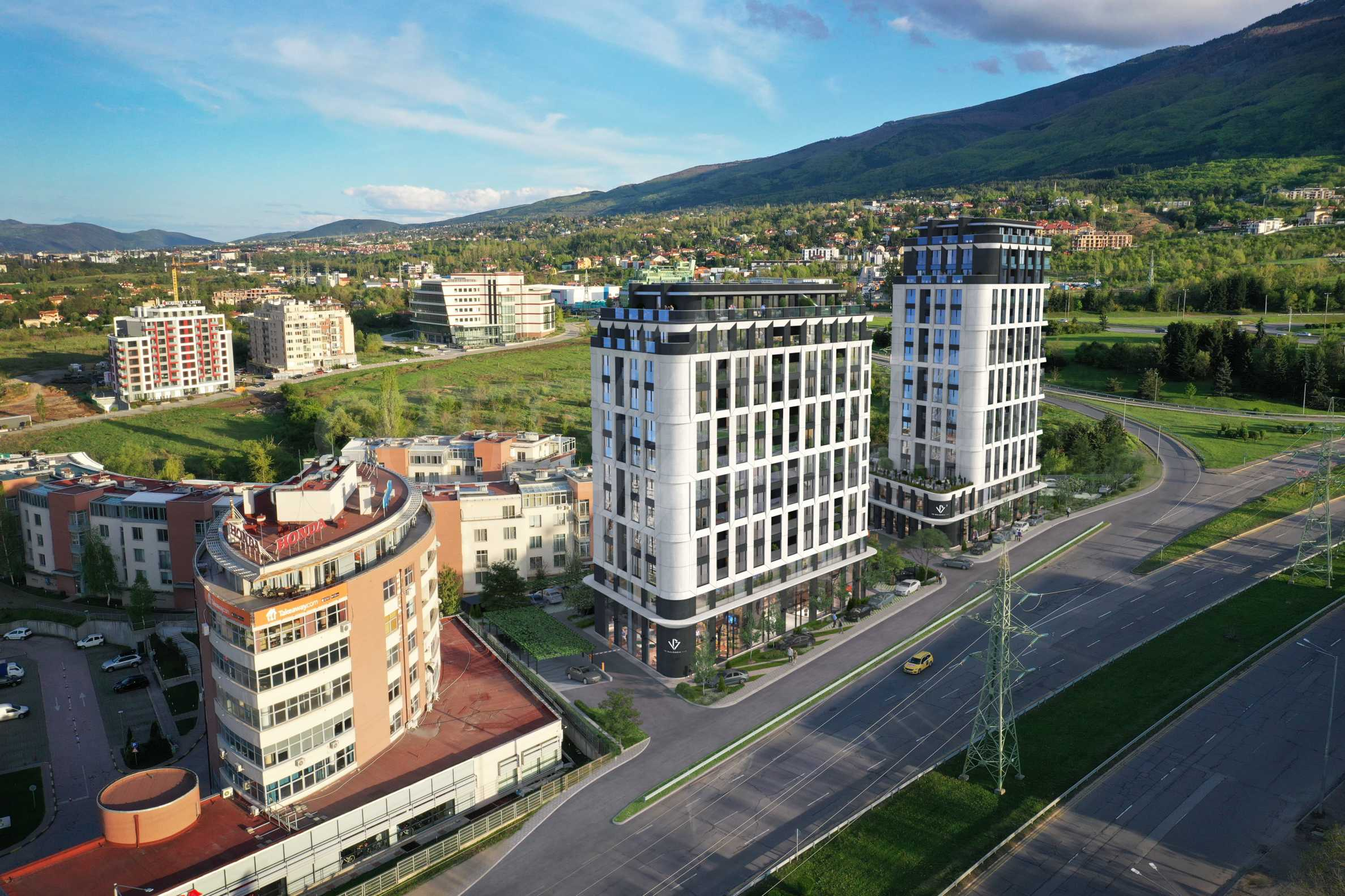 Via Bulgaria 2 - new exclusive residential building on Bulgaria Blvd. 2