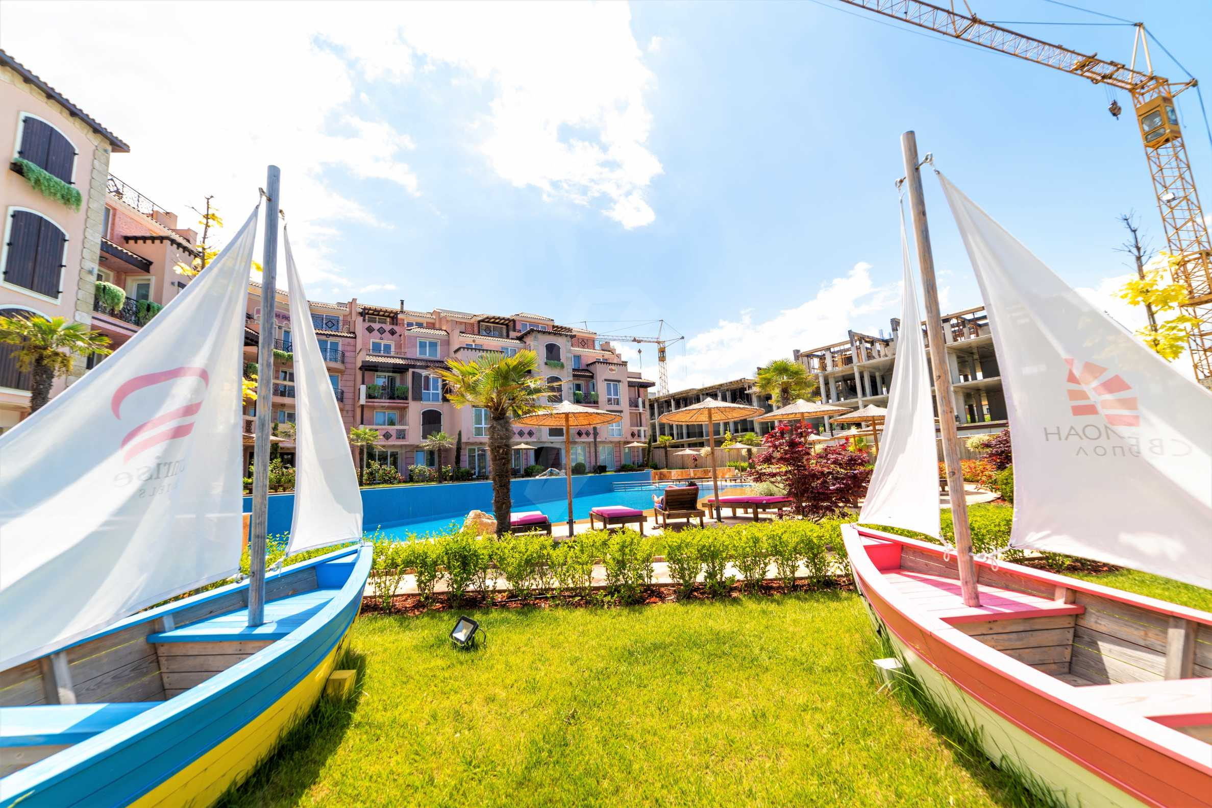 Apartment with frontal sea view in TOP complex near Kavatsi Beach 4