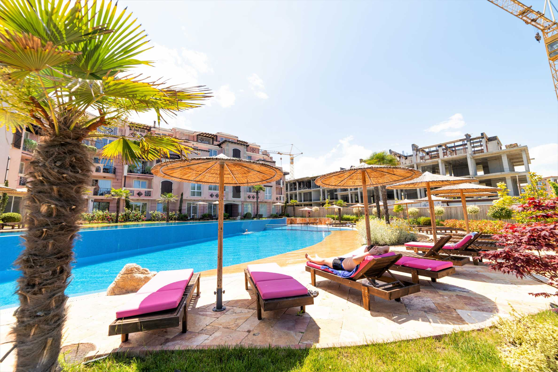 Apartment with frontal sea view in TOP complex near Kavatsi Beach 5
