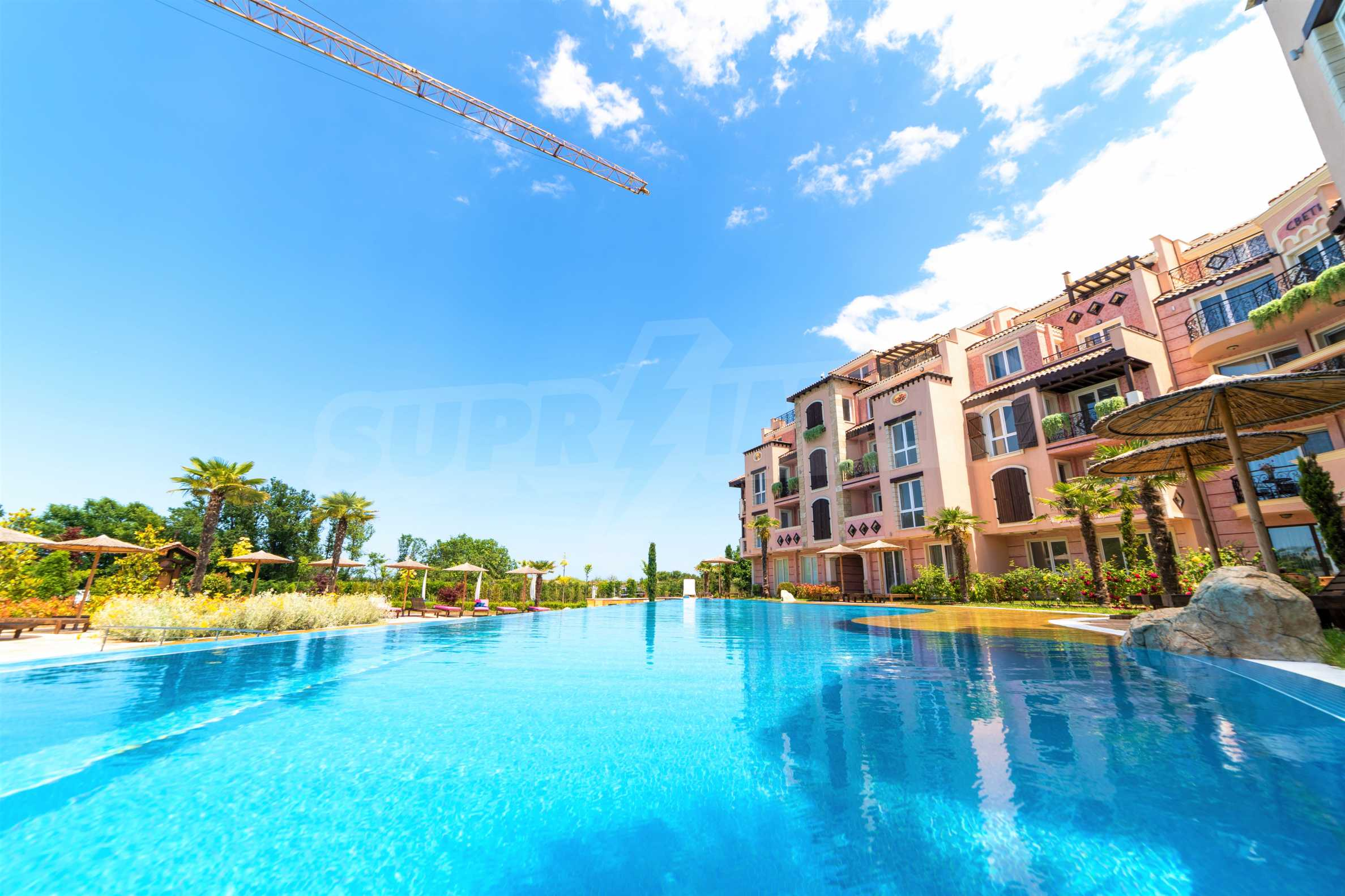 Apartment with frontal sea view in TOP complex near Kavatsi Beach 6