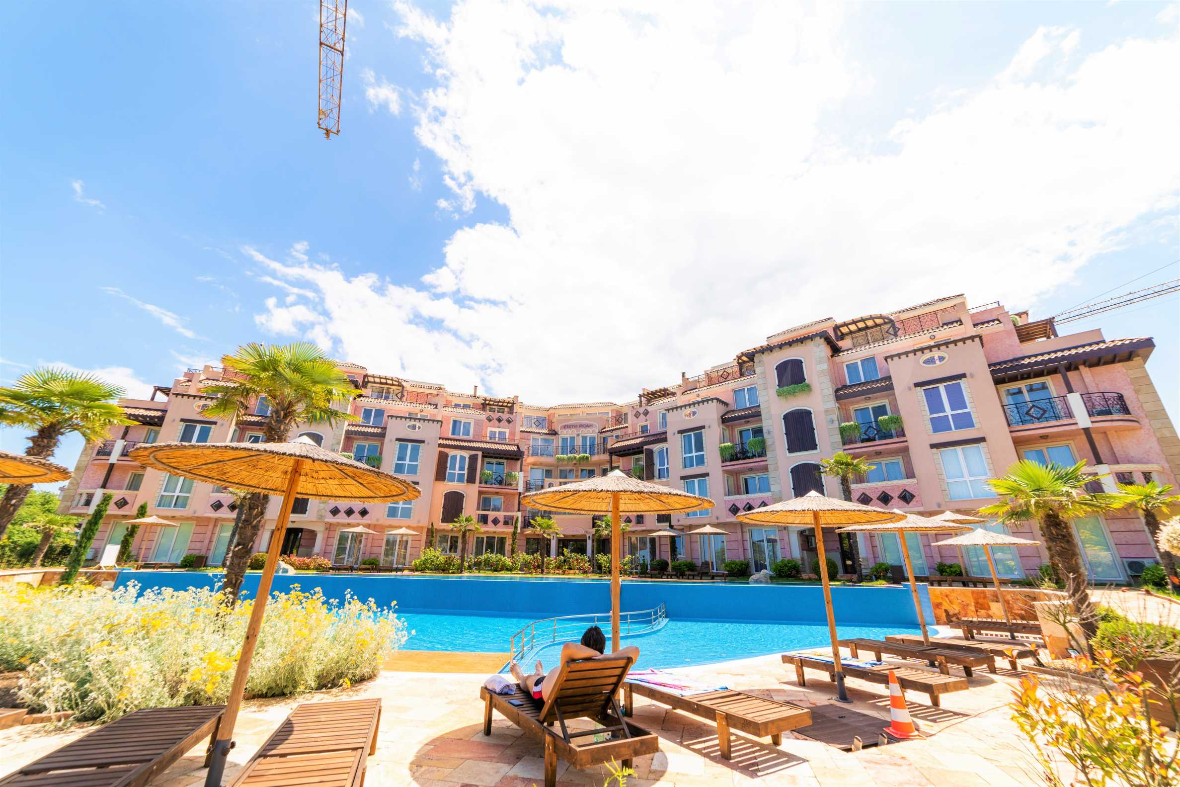 Apartment with frontal sea view in TOP complex near Kavatsi Beach 7