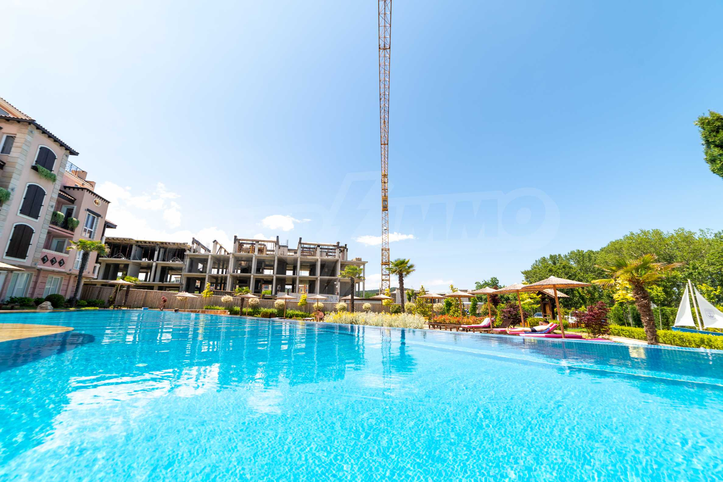 Apartment with frontal sea view in TOP complex near Kavatsi Beach 8