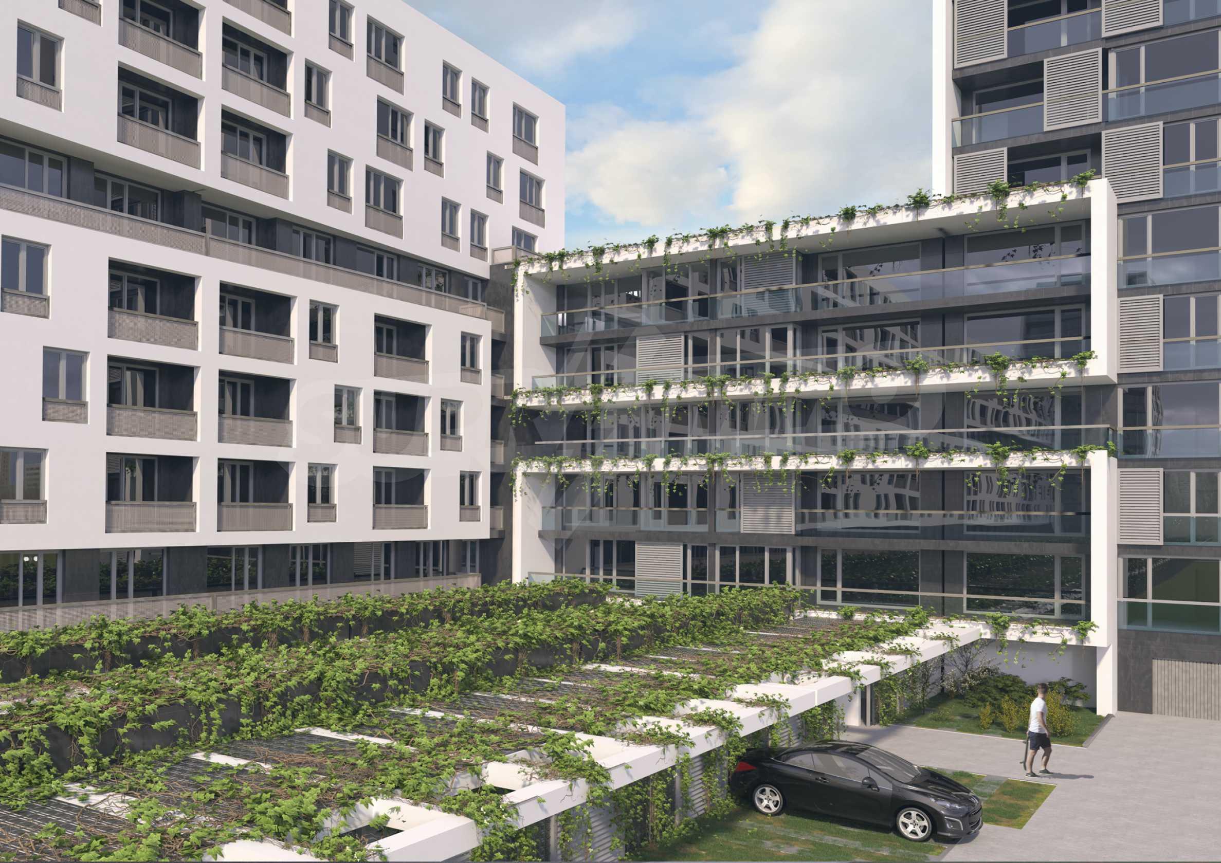Exklusives Wohnprojekt in einer ruhigen Grünlage nahe Zentrum 11